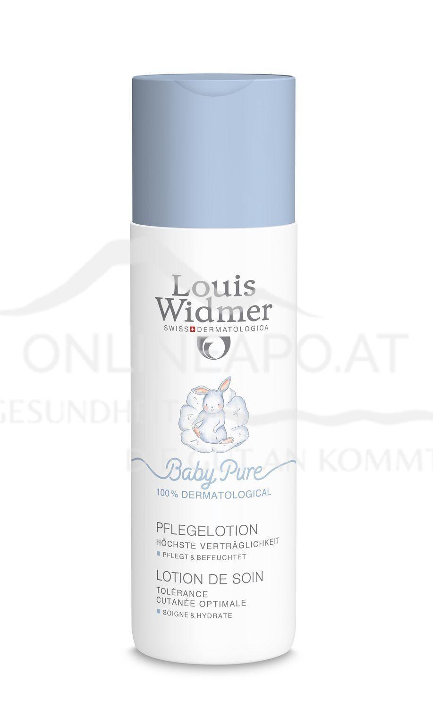 Louis Widmer BabyPure Pflegelotion ohne Parfüm