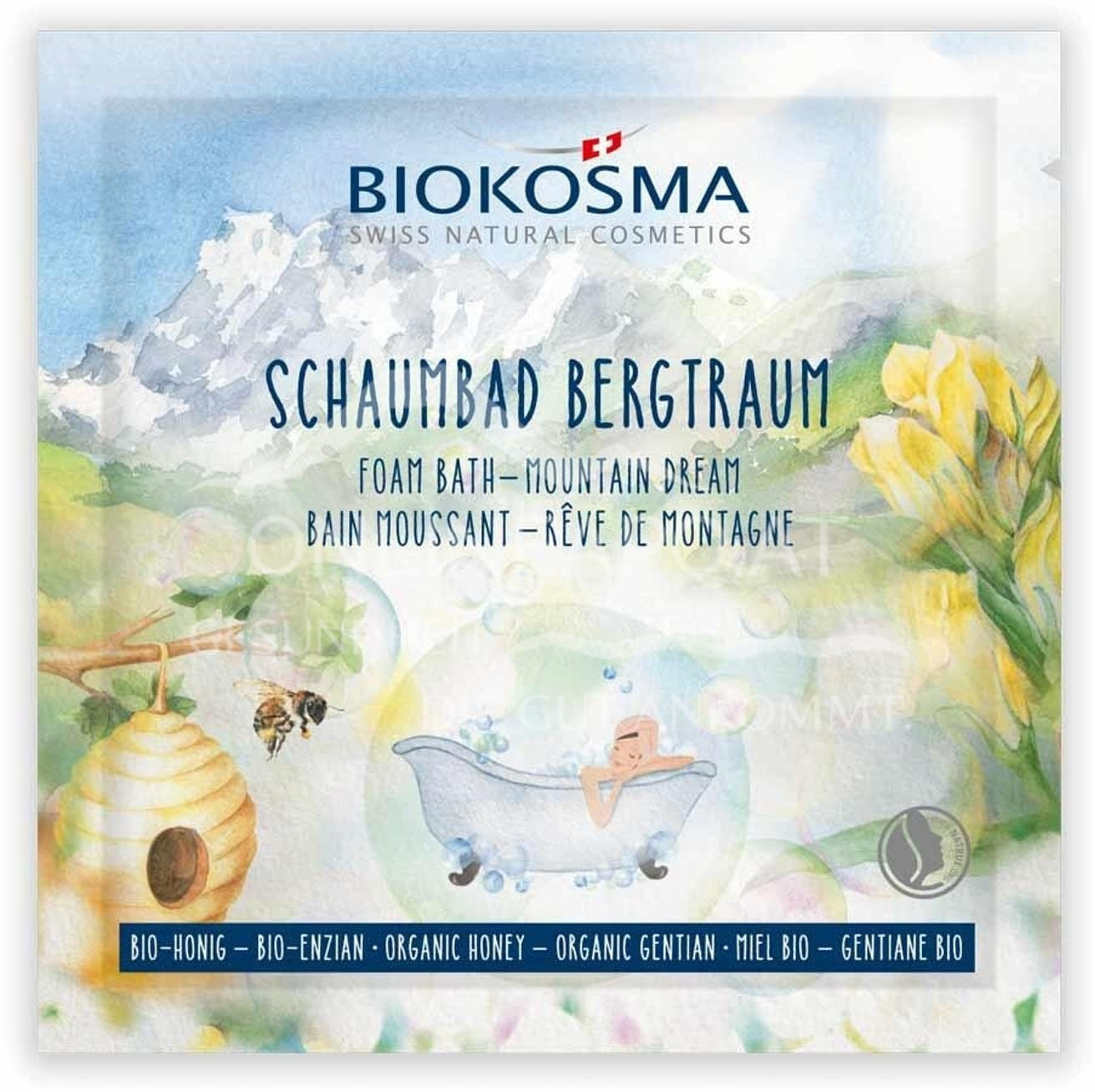 BIOKOSMA Schaumbad Bergtraum