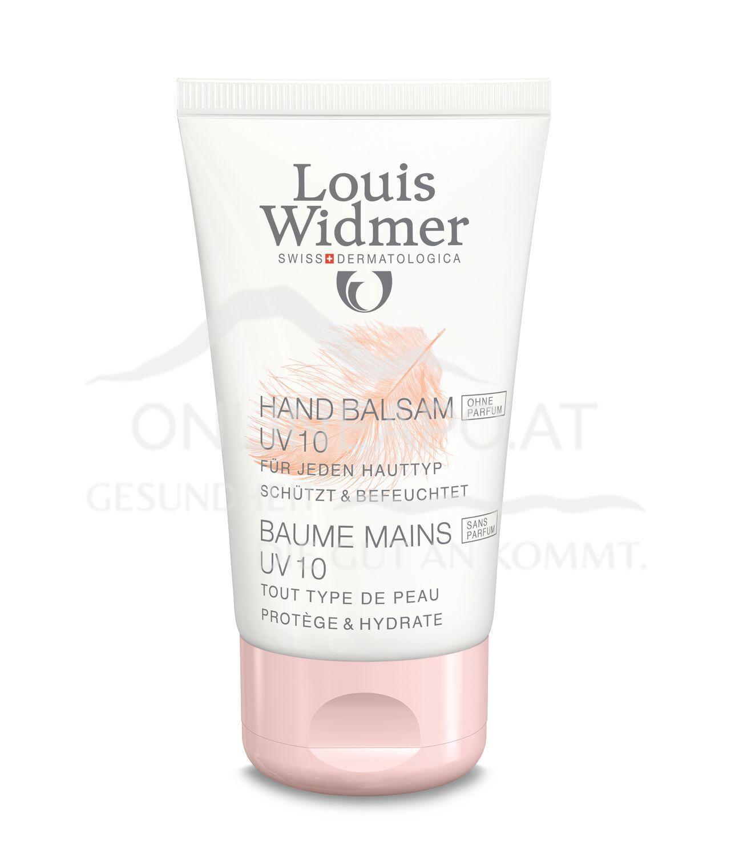 Louis Widmer Hand Balsam UV 10