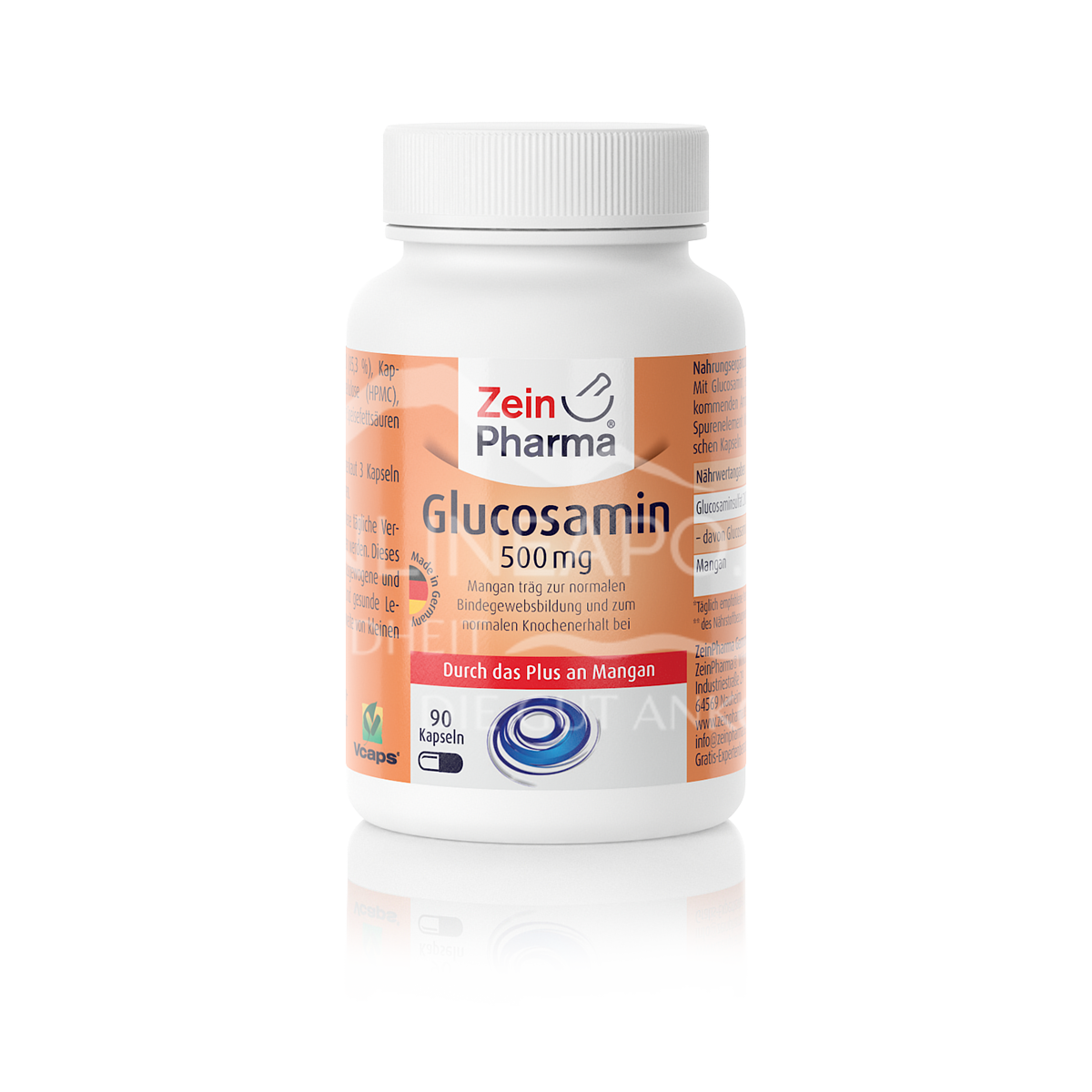 Zeinpharma Glucosamin +Mangan Kapseln