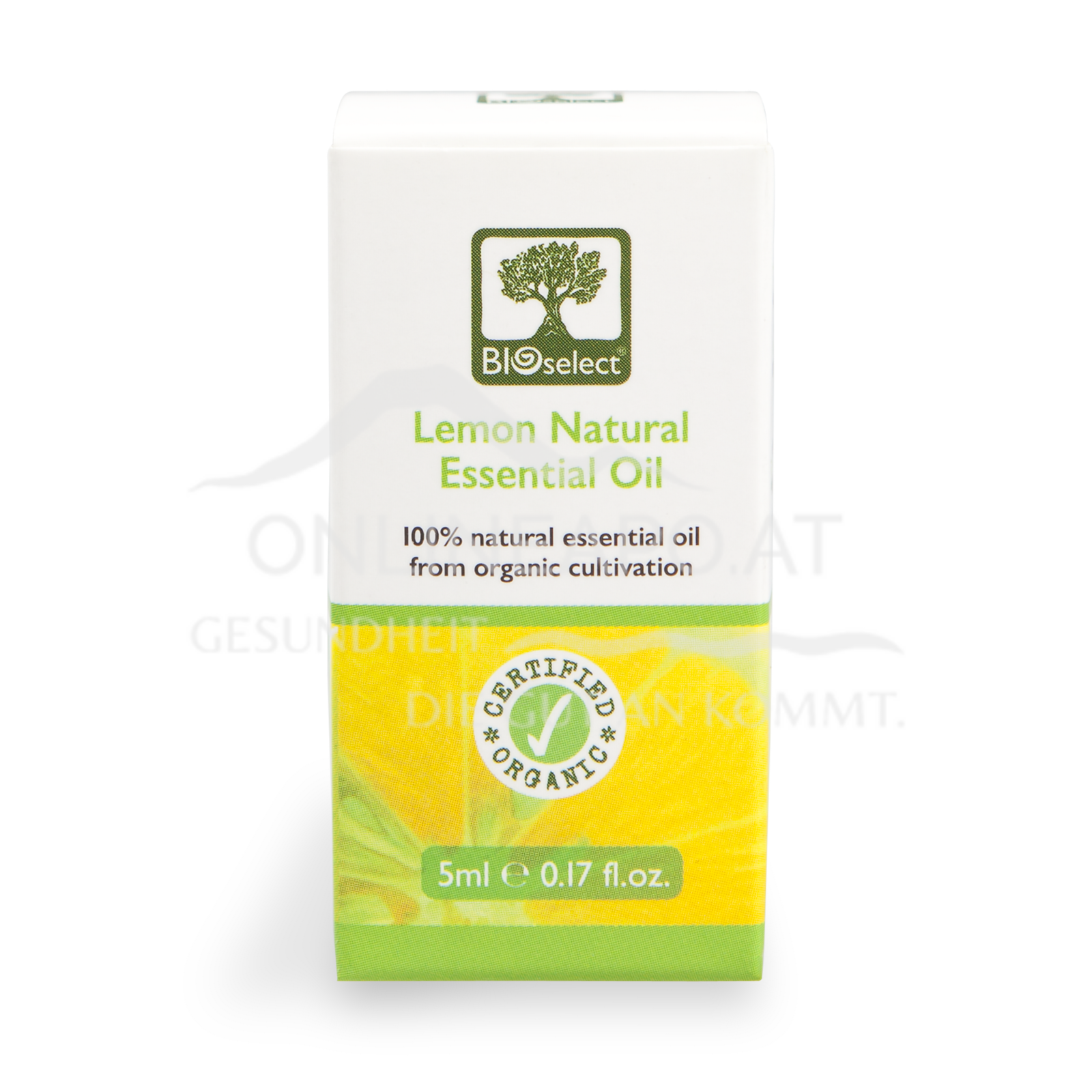 Bioselect Lemon Natural Essential Oil Certified Organic