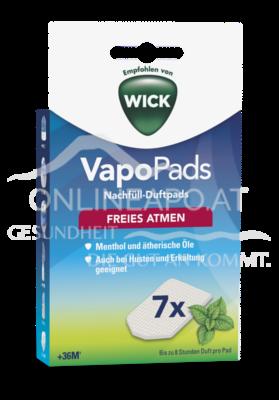 Wick VapoPads Menthol-Duftpads
