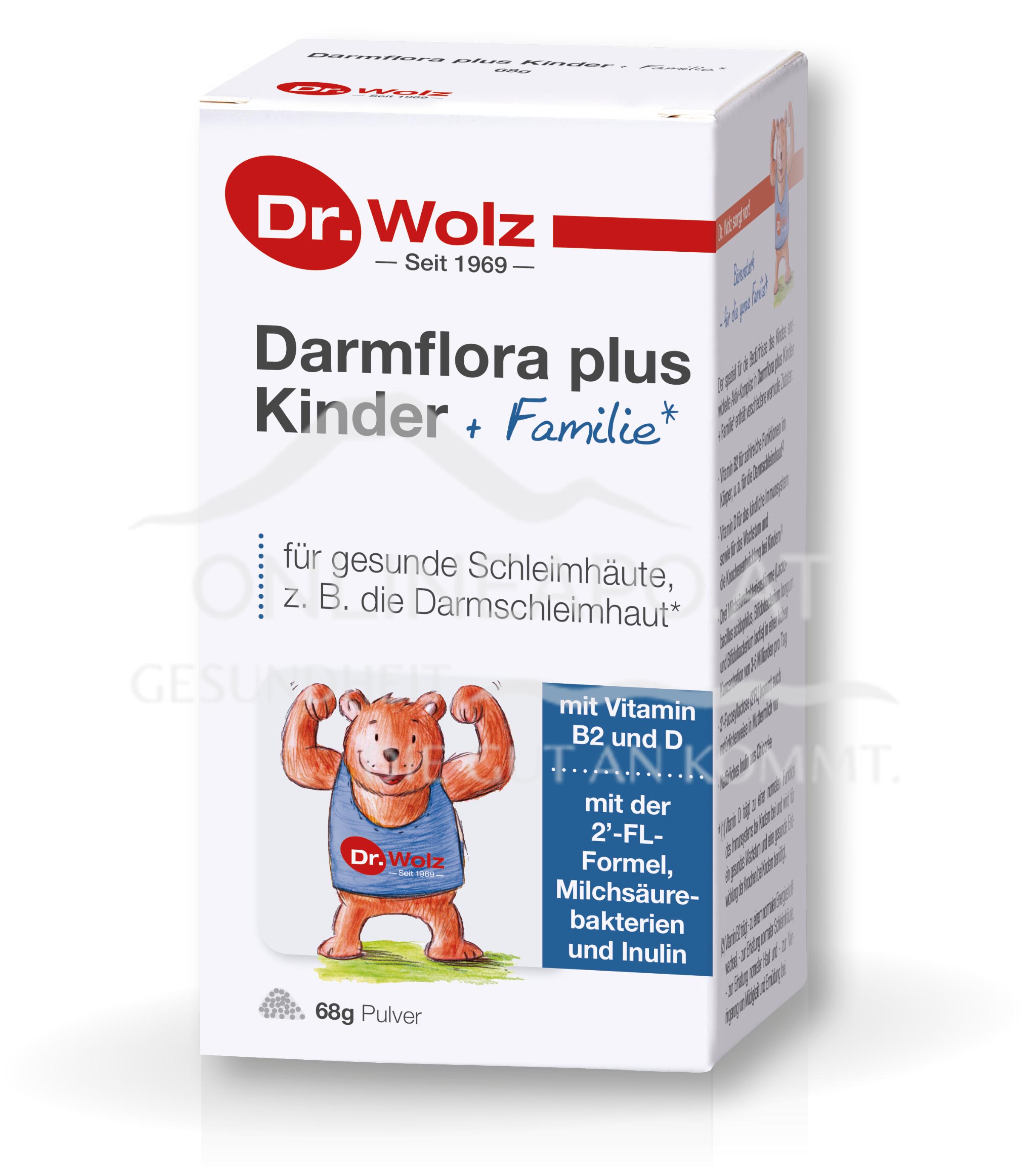 Dr. Wolz Darmflora plus® Kinder + Familie Pulver