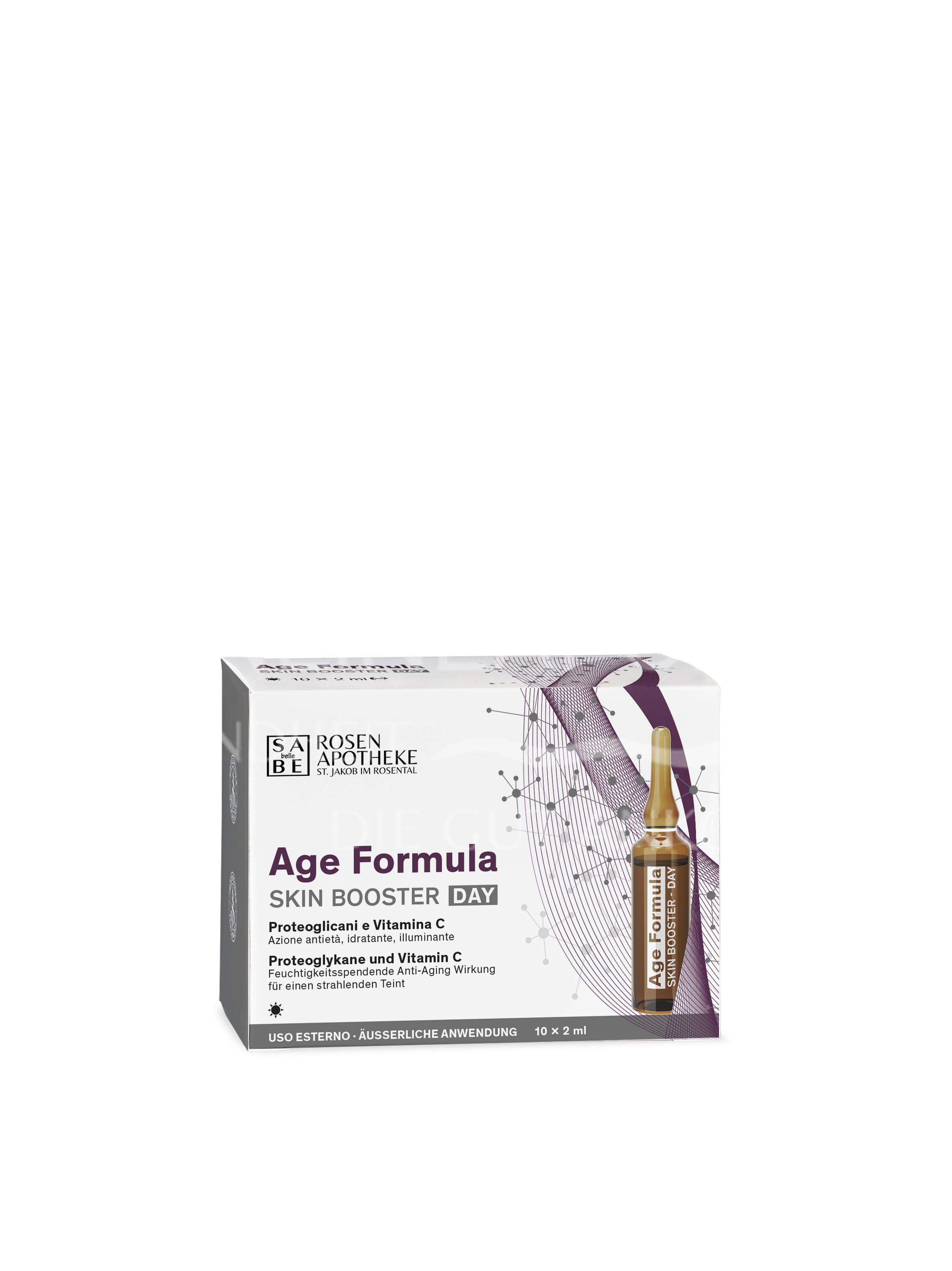 SABE belle Age Formula Skin Booster Day à 2 ml