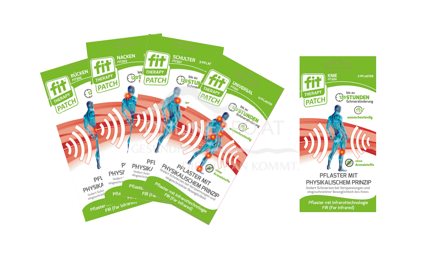 Fit® Therapy Pflaster Nacken
