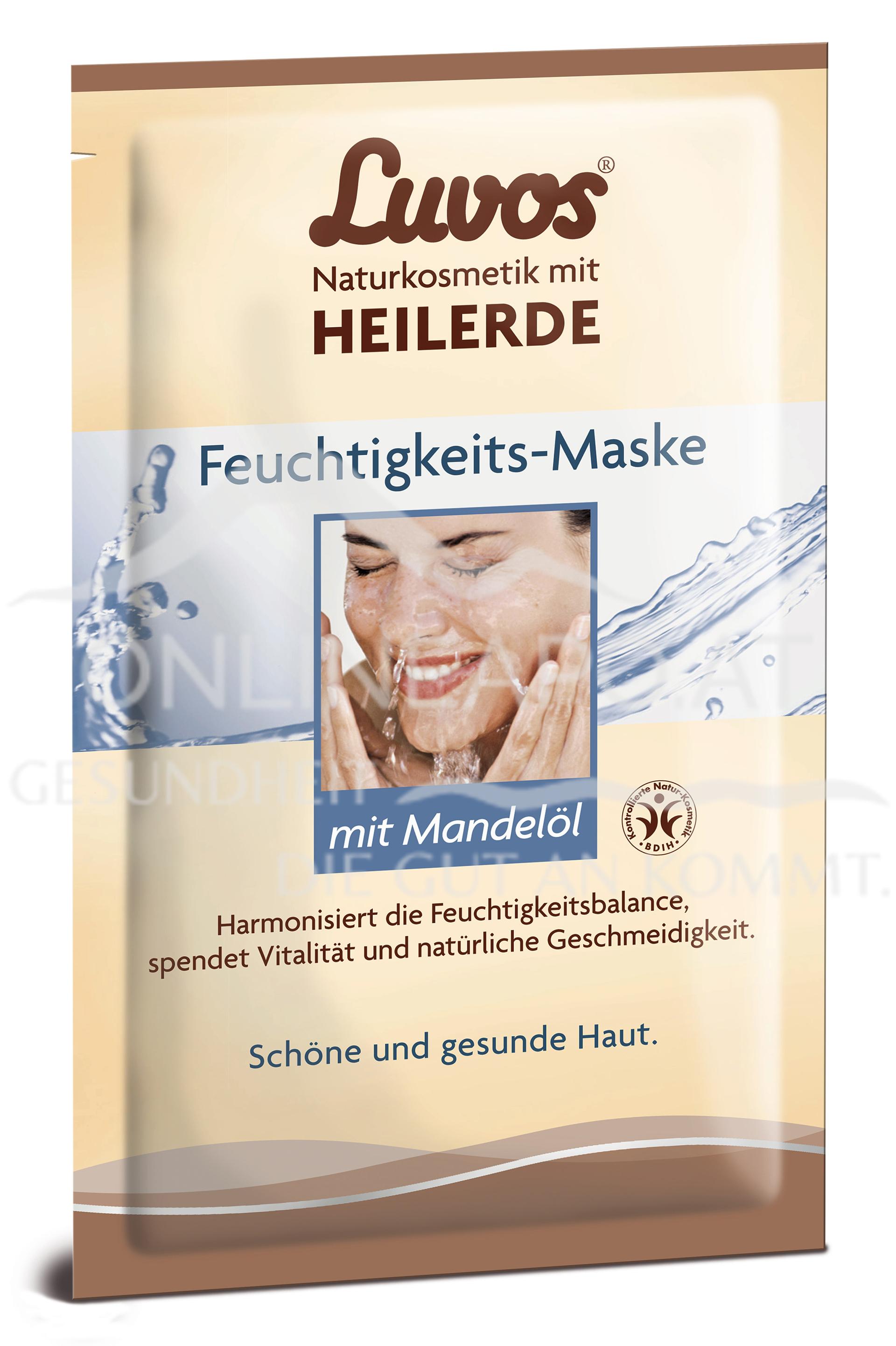 Luvos Heilerde Gesichtsmaske Feuchtigkeit 2x7,5ml
