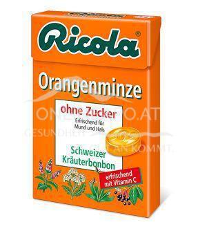 Ricola Orangenminze zuckerfrei