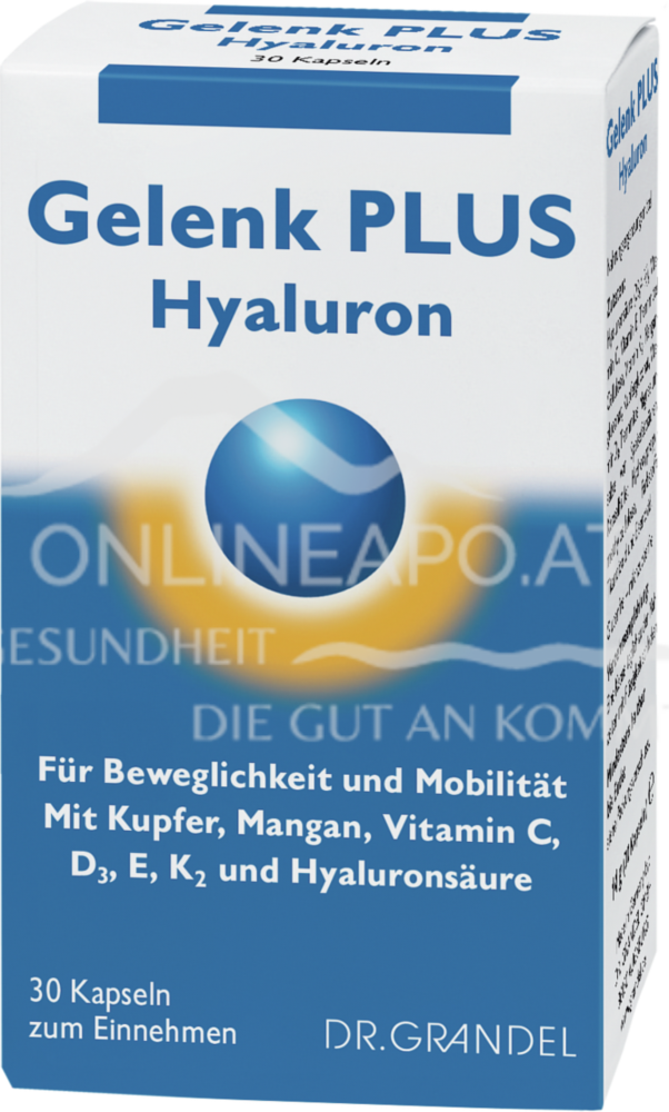 DR. GRANDEL Gelenk plus Hyaluron Kapseln