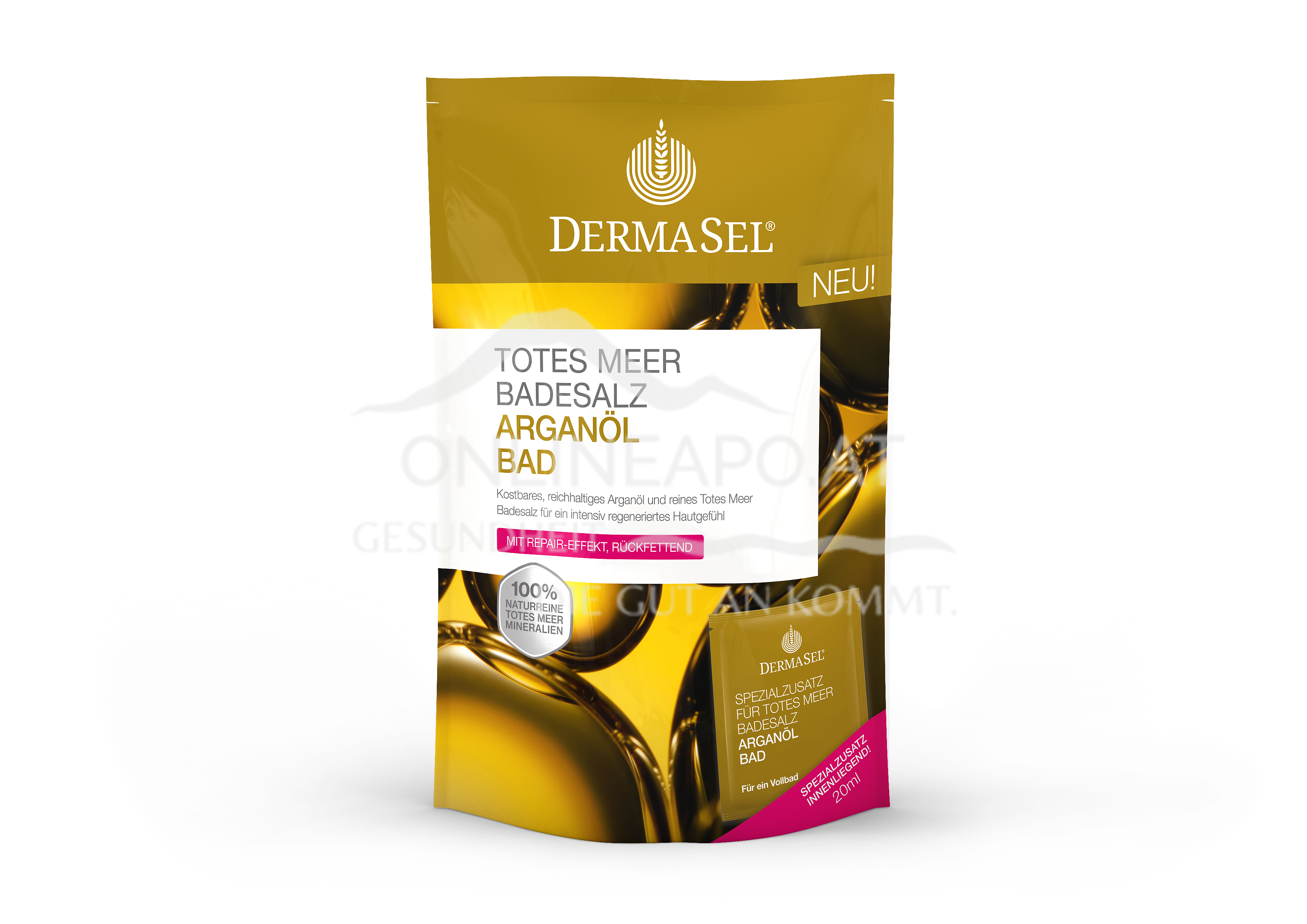 DermaSel® Totes Meer Badesalz Arganöl Bad