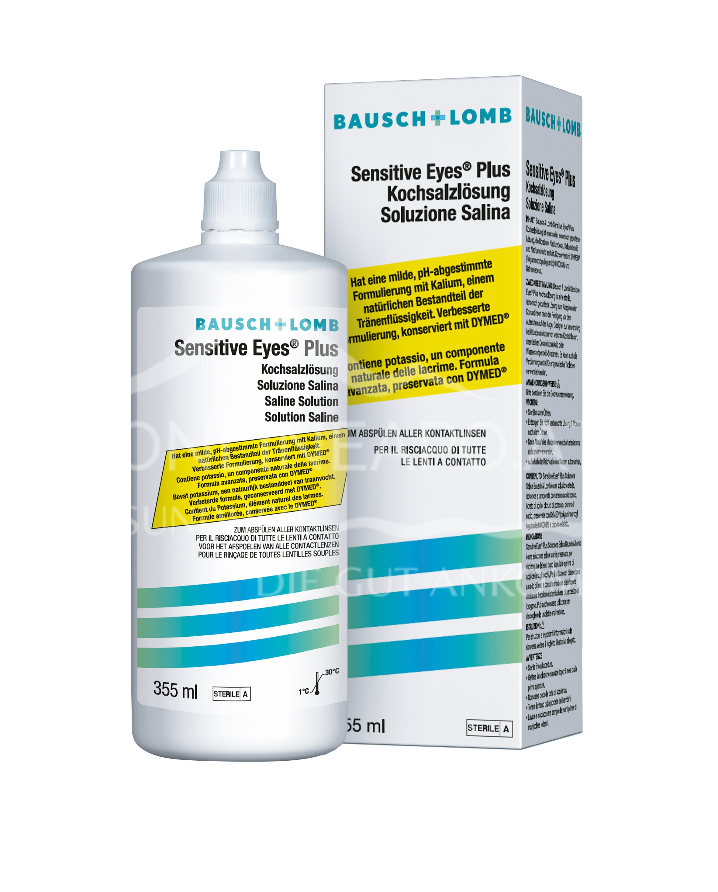 Bausch & Lomb Sensitive Eyes Plus Kochsalzlösung