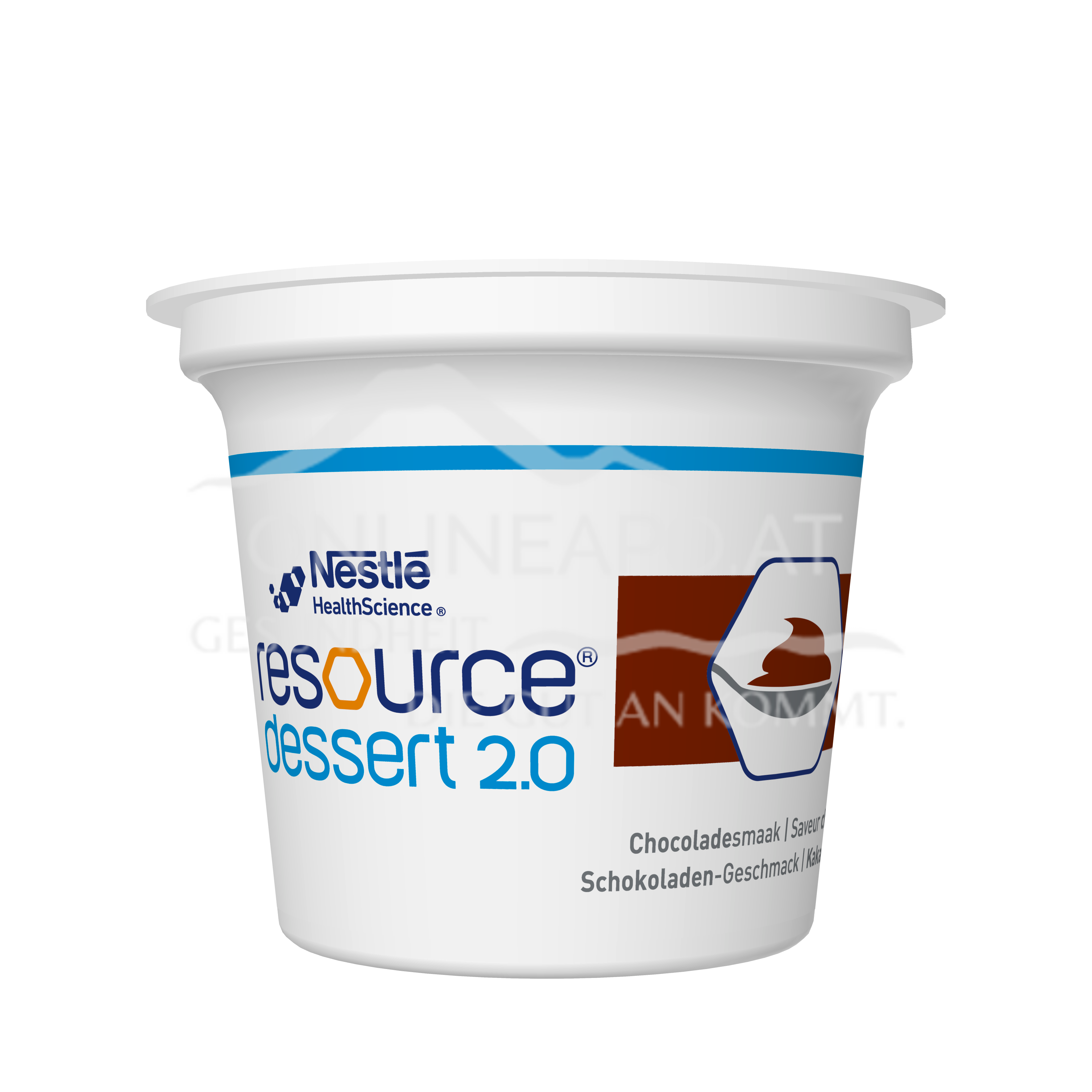 Resource® Dessert 2.0 Schokolade 4x125g