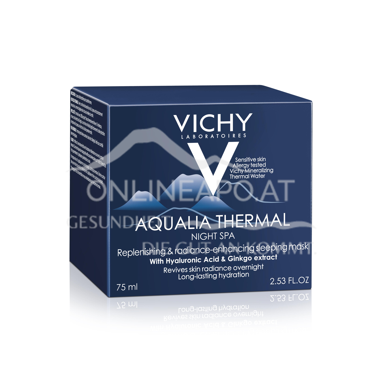 VICHY Aqualia Thermal Nacht Spa Regenerierende und beruhigende Gel-Creme