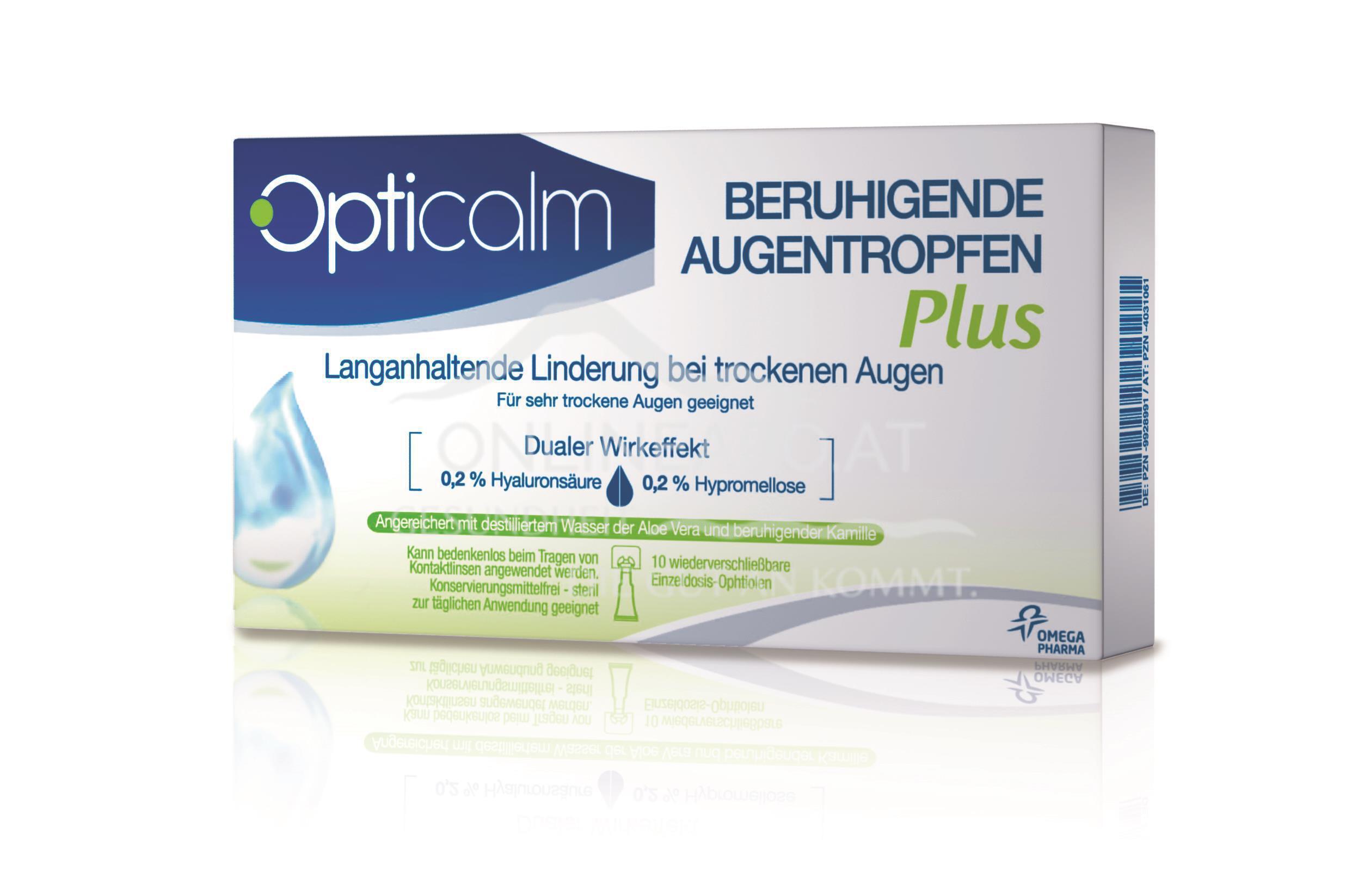 Opticalm beruhigende Augentropfen PLUS 0,5ml