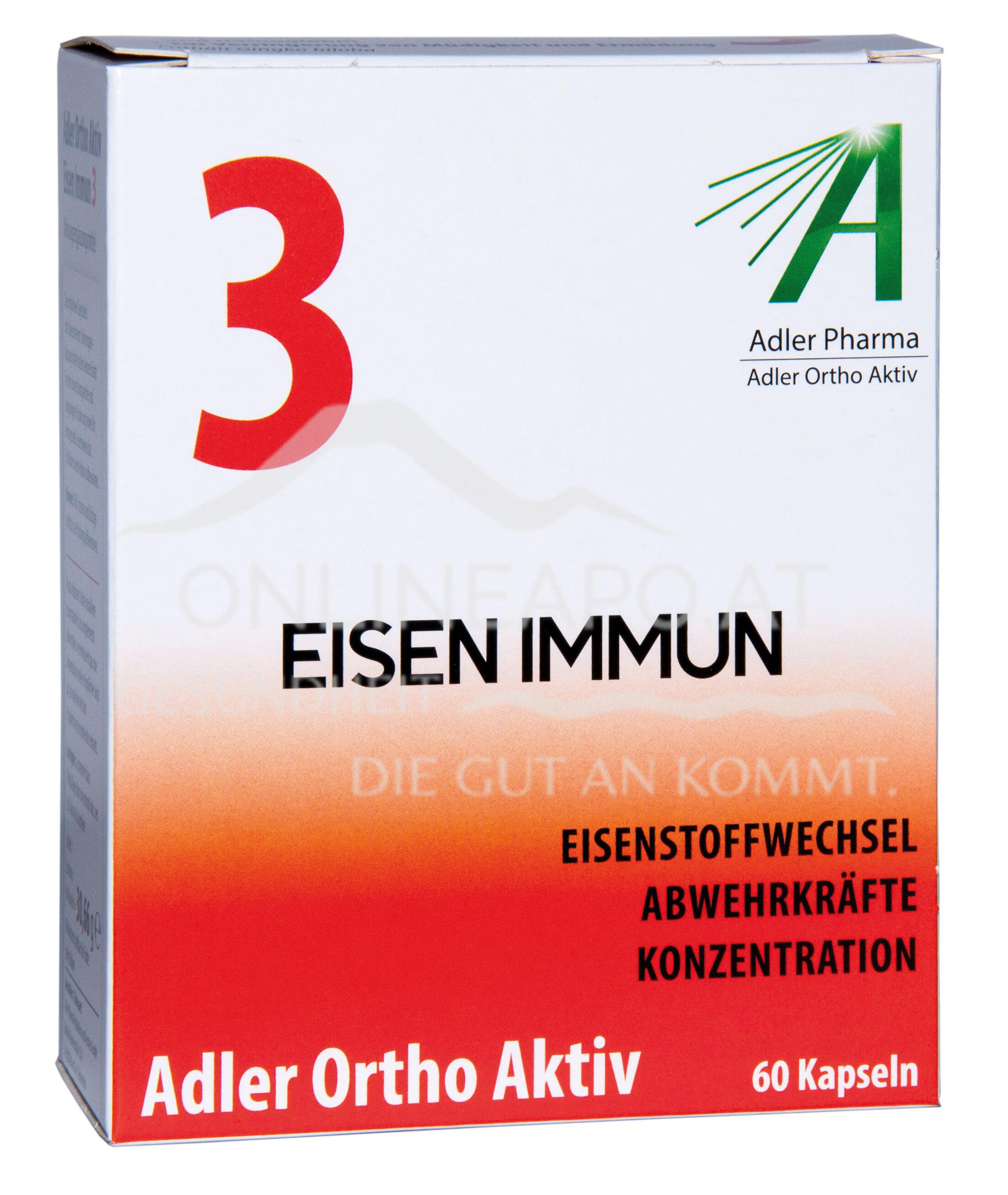 Adler Ortho Aktiv Nr. 3 Eisen Immun