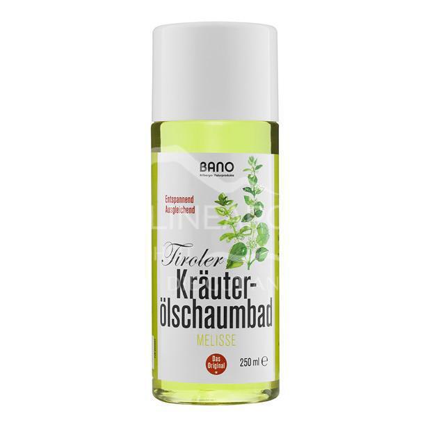 BANO Tiroler Melisse Kräuterölschaumbad