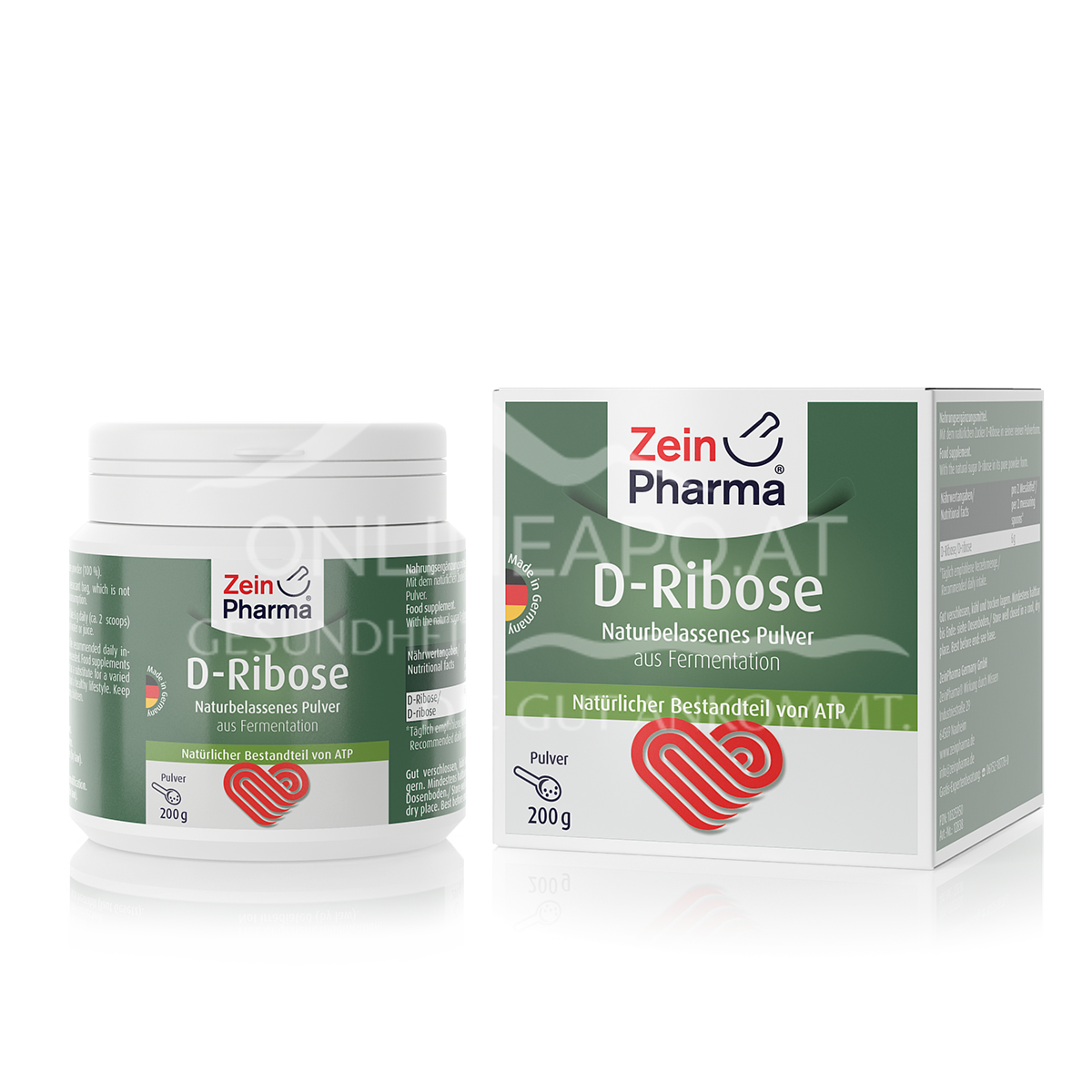 Zeinpharma D-Ribose Pulver