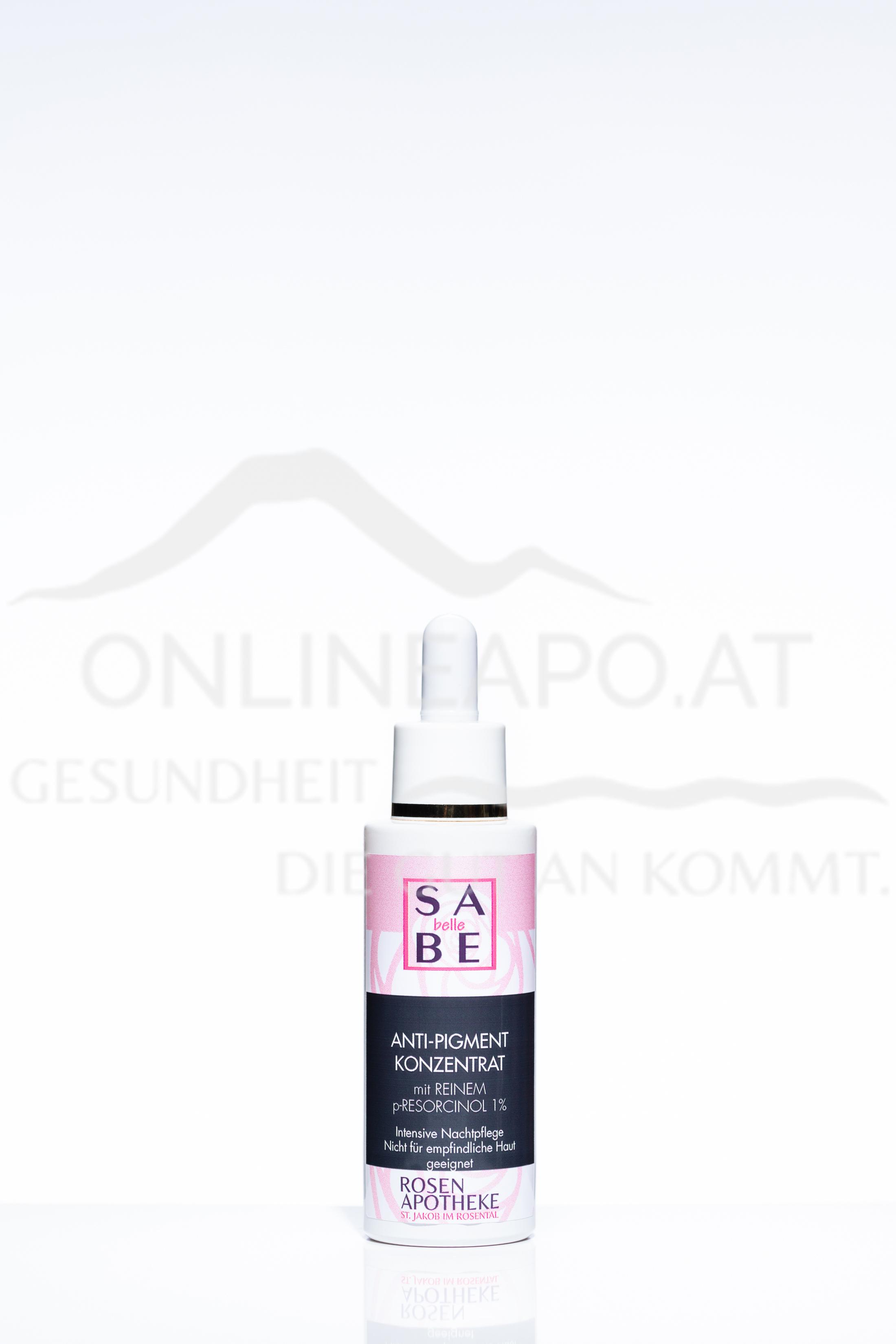 SABE belle Anti-Pigment Konzentrat mit Reinem P-Resorcinol 1 %