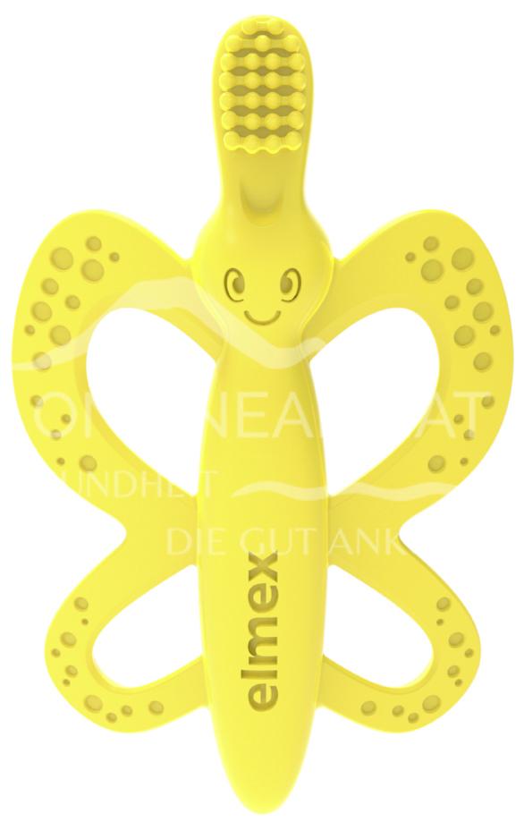 elmex® Baby Zahnbürste + Beißring 0-12 Monate
