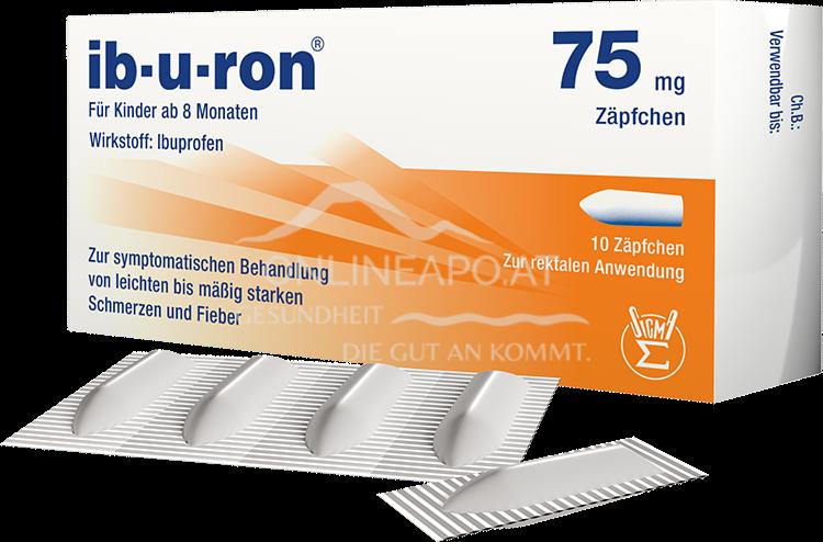 ib-u-ron 75 mg Zäpfchen