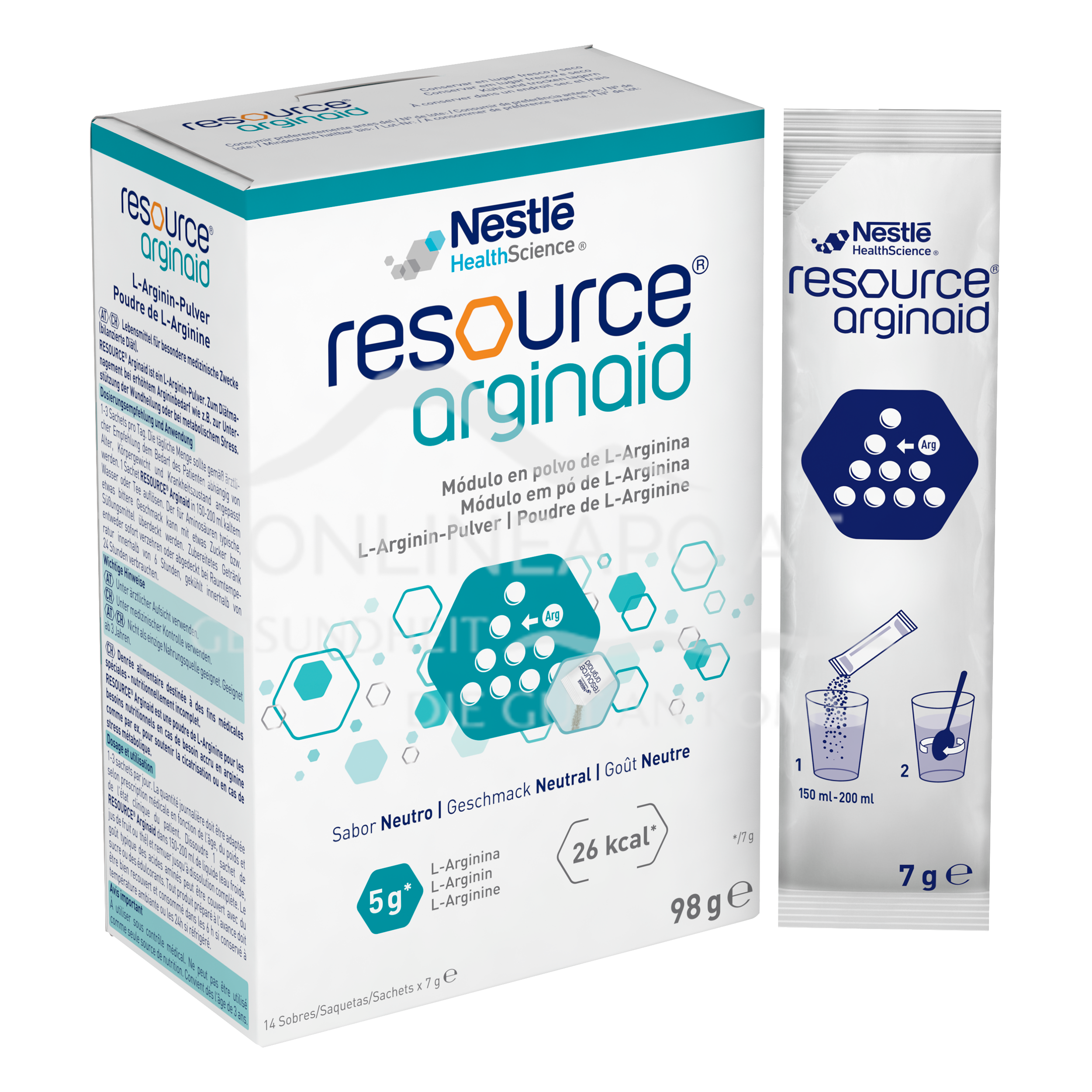 Resource® Arginaid 14x7g