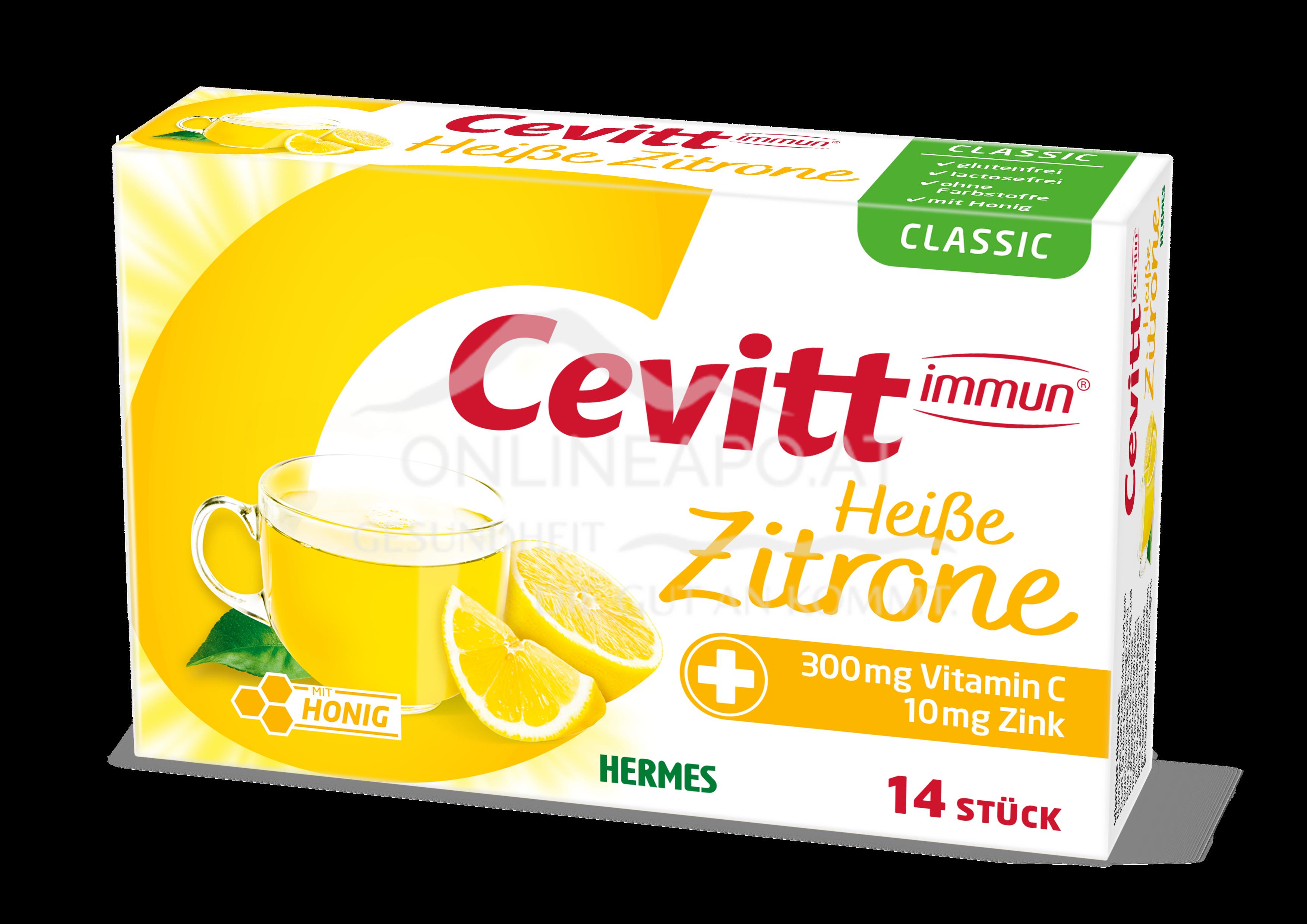 Cevitt immun® Heiße Zitrone