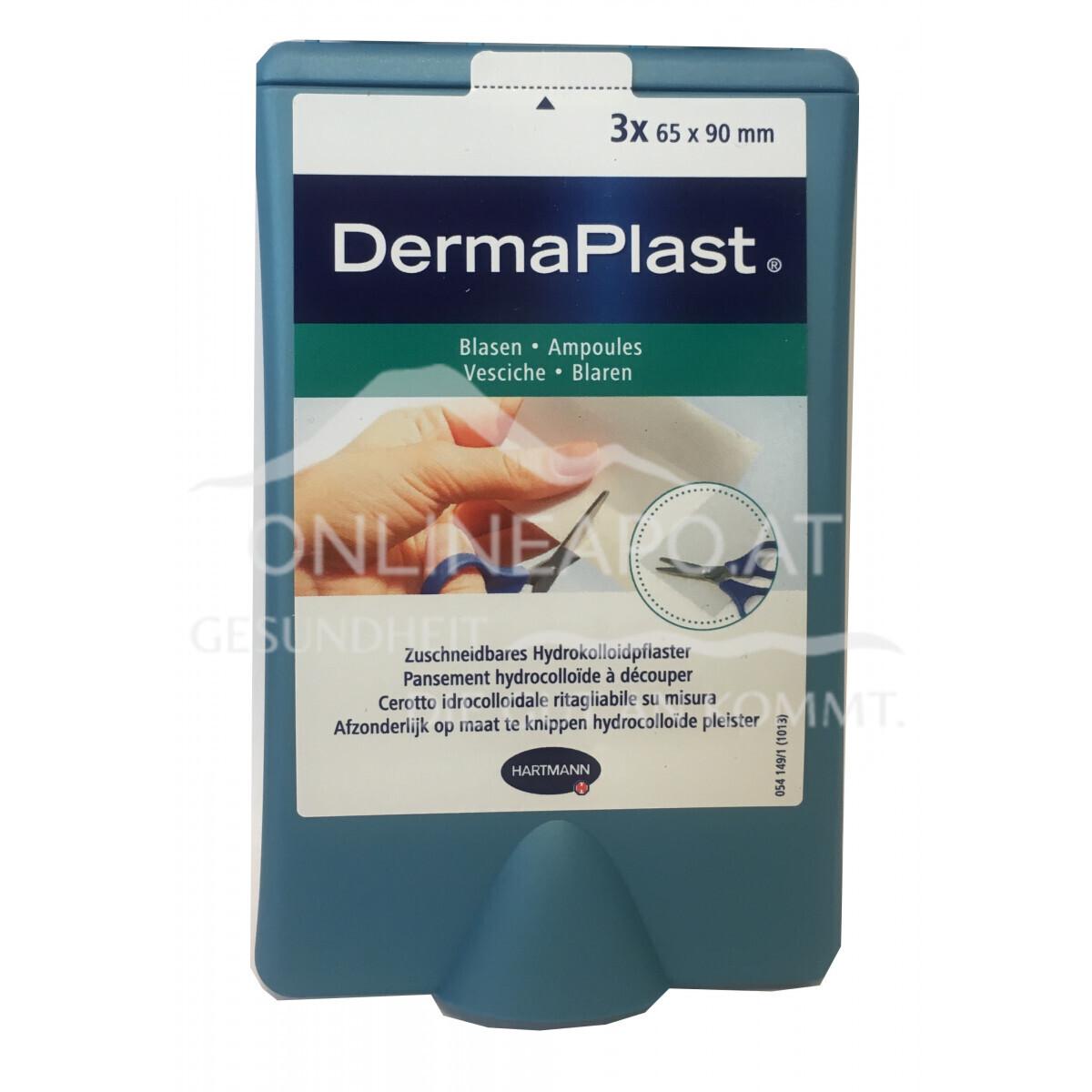 DermaPlast® Blasenpflaster zuschneidbar 65 x 90mm