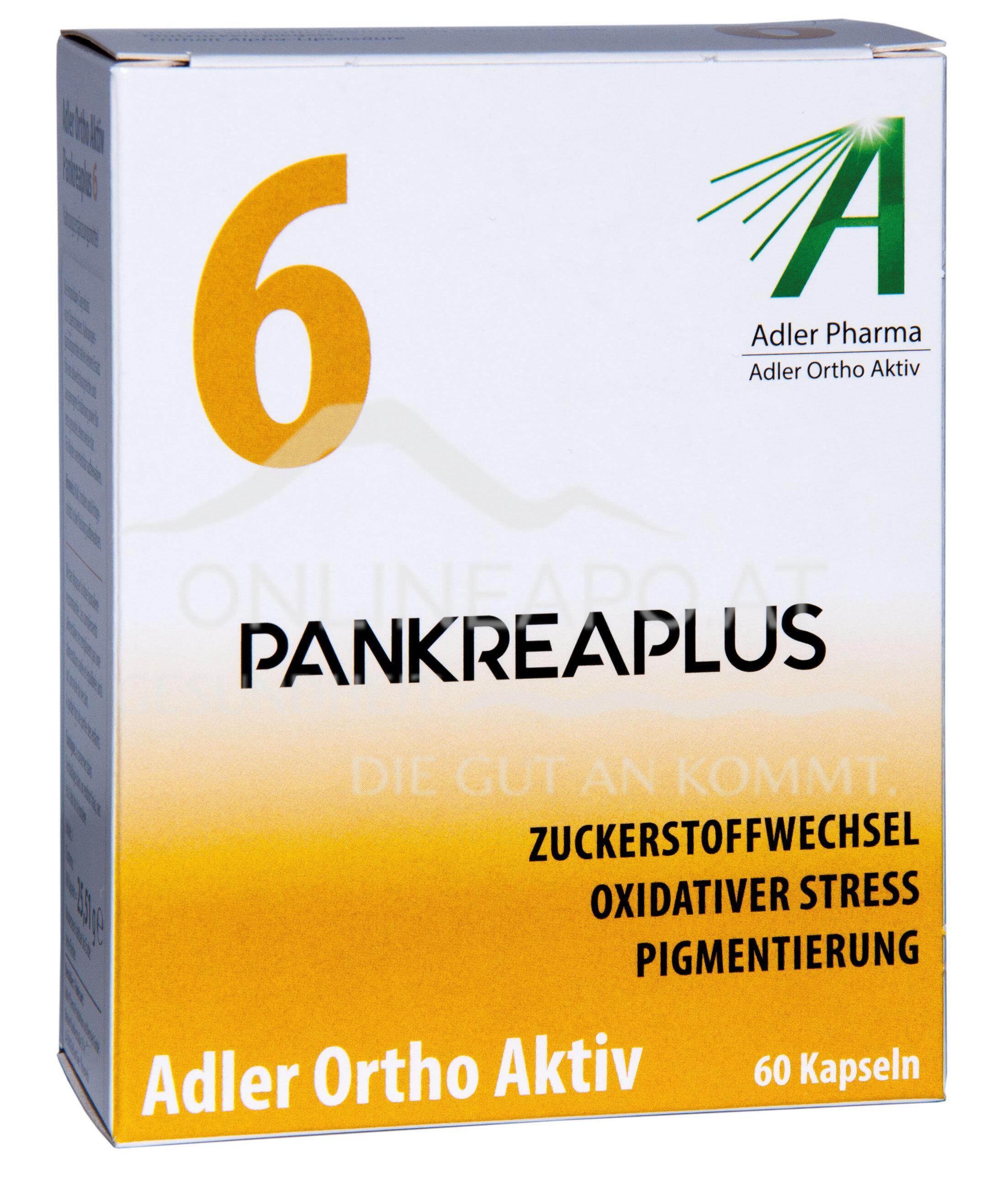 Adler Ortho Aktiv Nr. 6 Pankreaplus