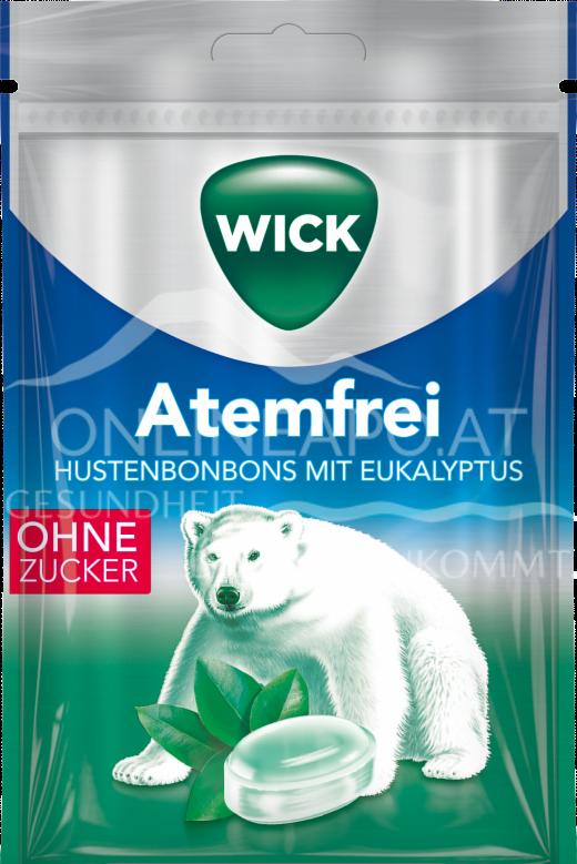 Wick Atemfrei Hustenbonbons mit Eukalyptus