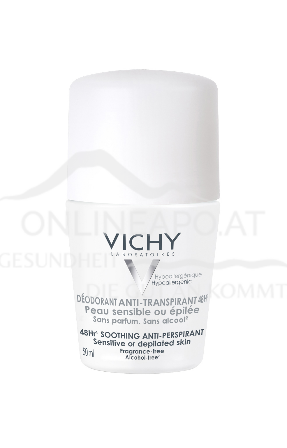 VICHY Deo Roll-On Anti-Transpirant sensible Haut 48h