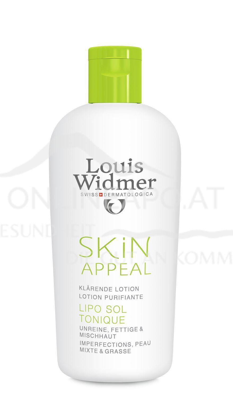 Louis Widmer Skin Appeal Lipo Sol Tonique ohne Parfüm