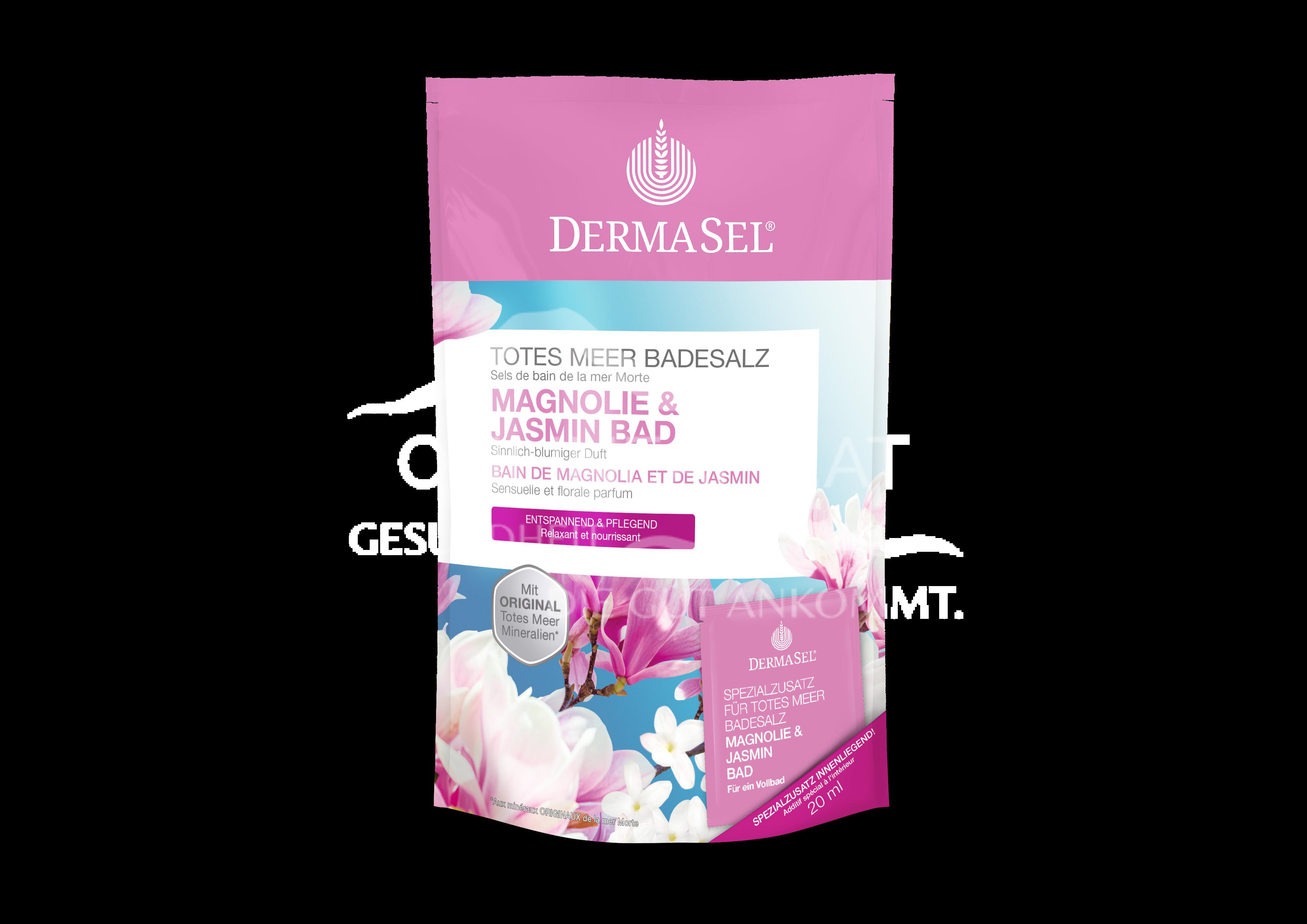 DermaSel® Totes Meer Badesalz Magnolien- & Jasminduft
