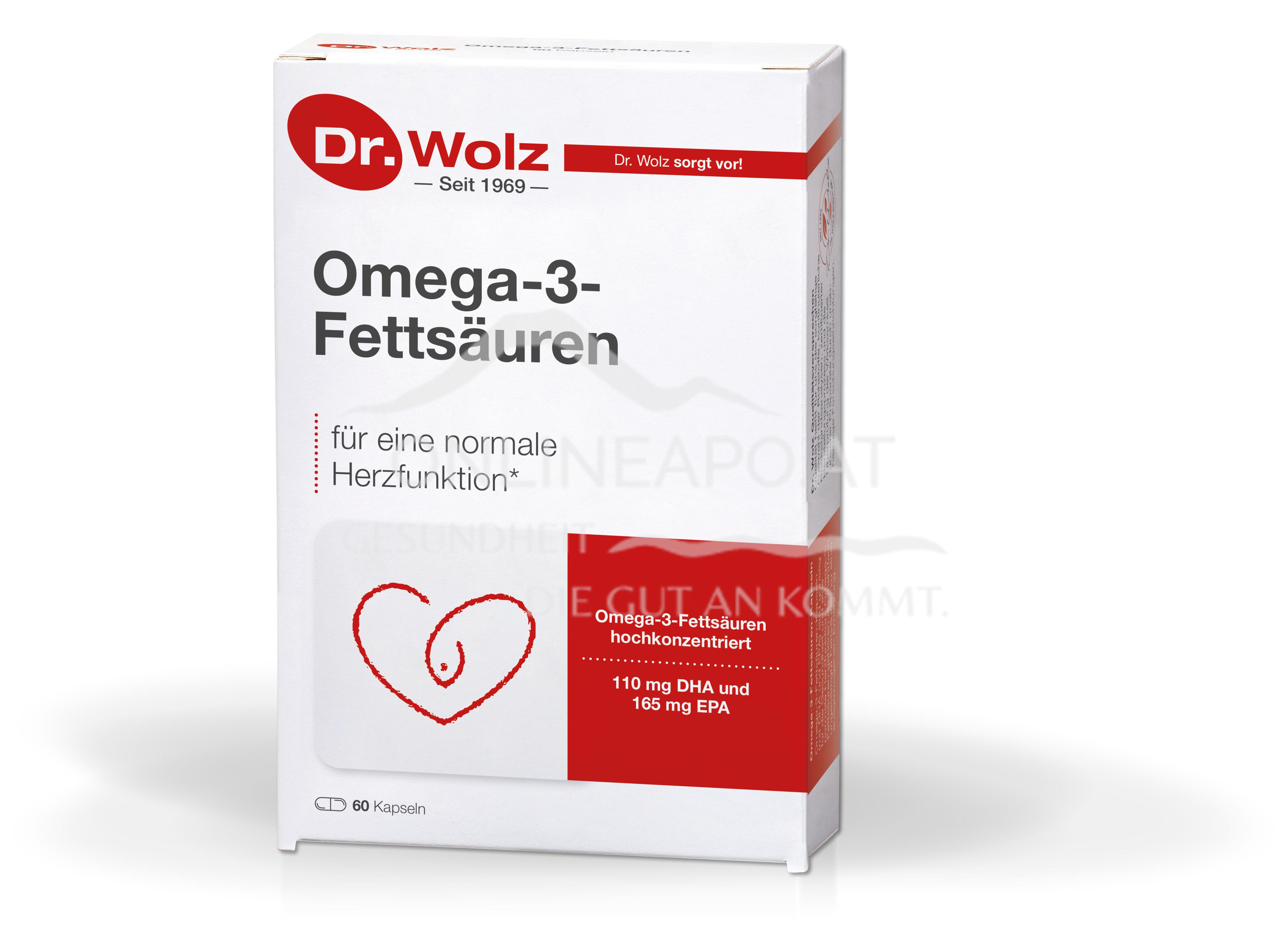 Dr. Wolz Omega-3-Fettsäuren Kapseln