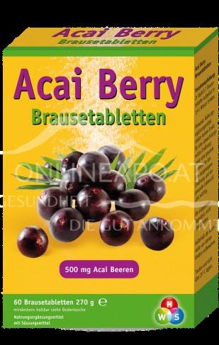 Acai Berry 500 mg Brausetabletten