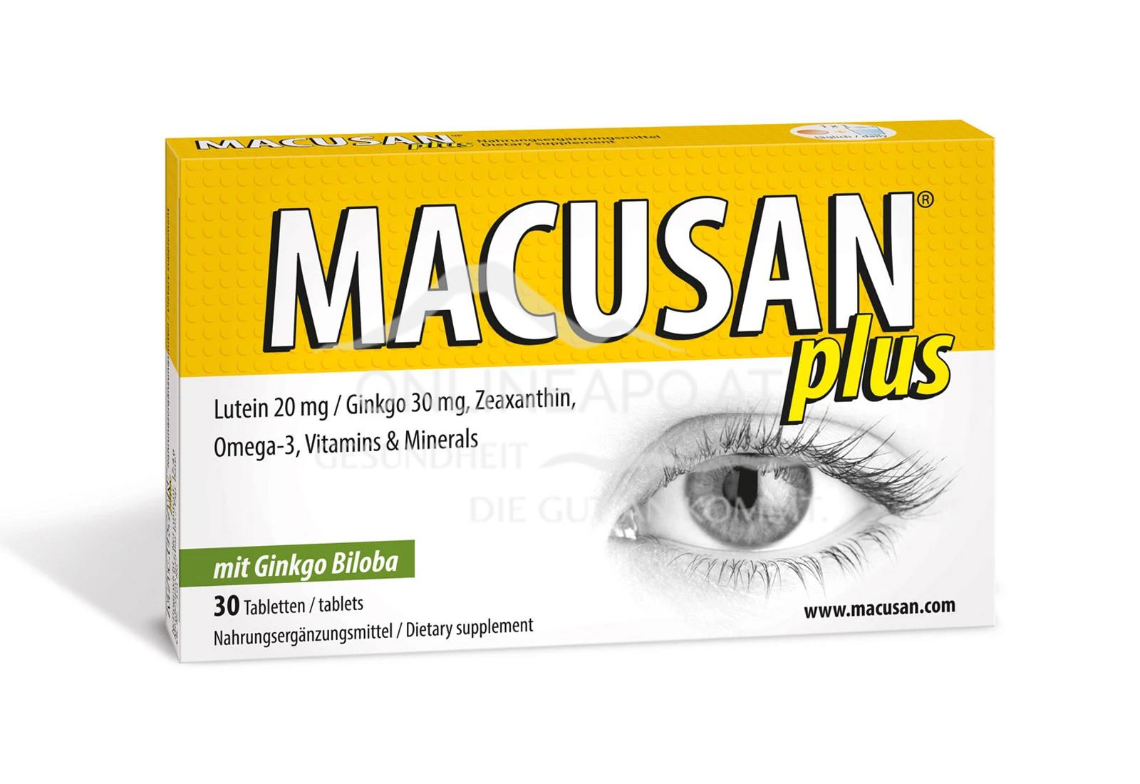 Macusan® plus