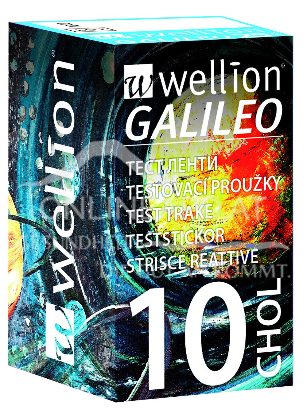 Wellion® GALILEO Teststreifen CHOL