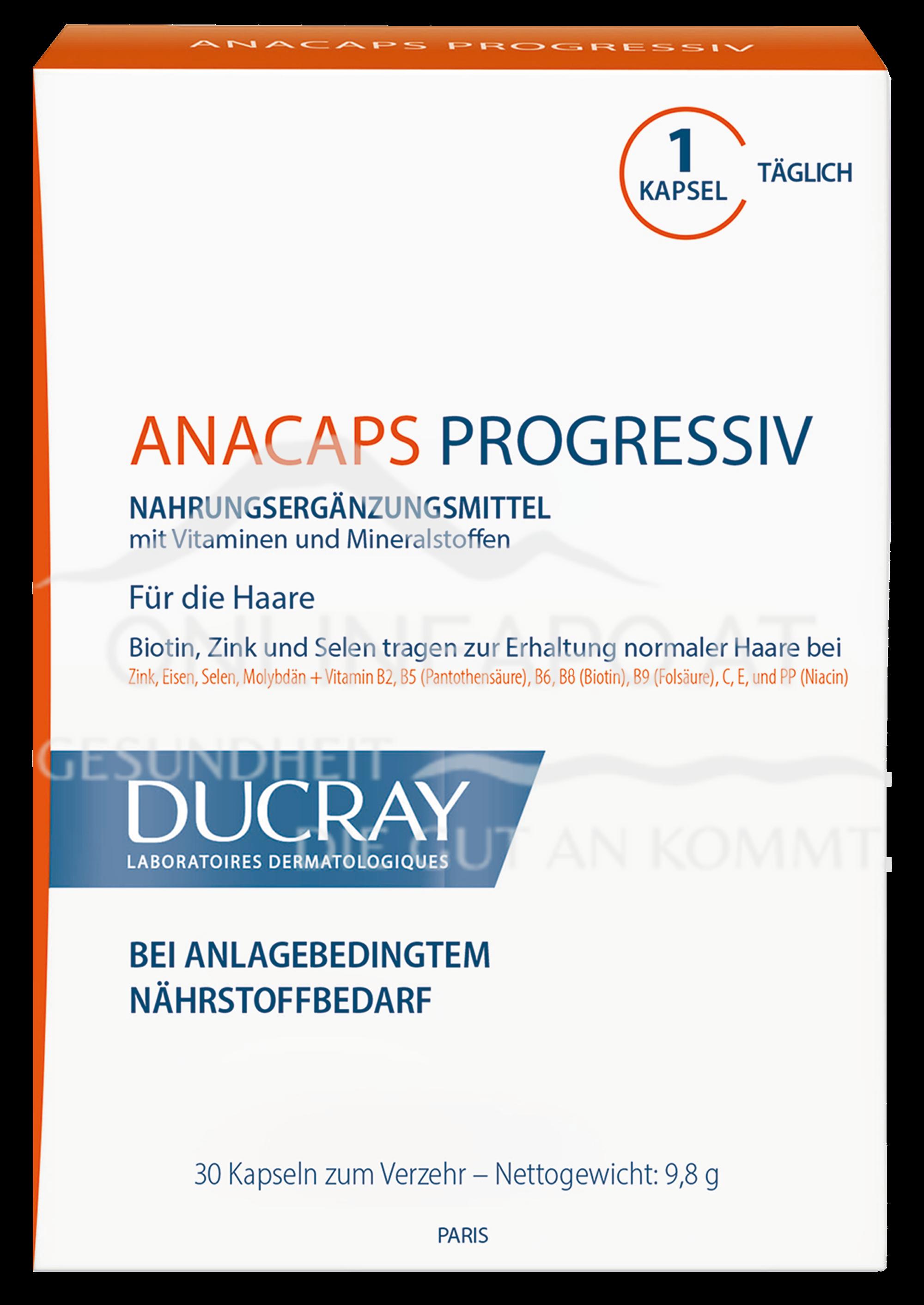 Ducray Anacaps Progressiv Haarpflege