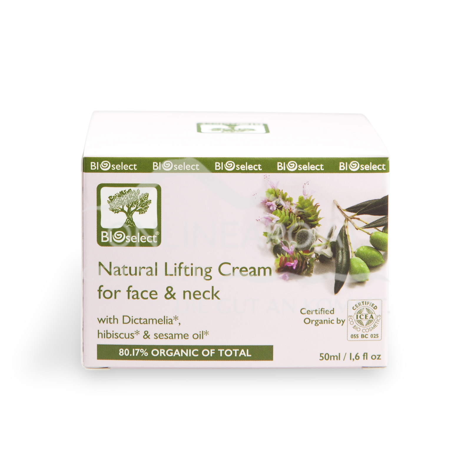 Bioselect Natural Lifting Cream for face & neck