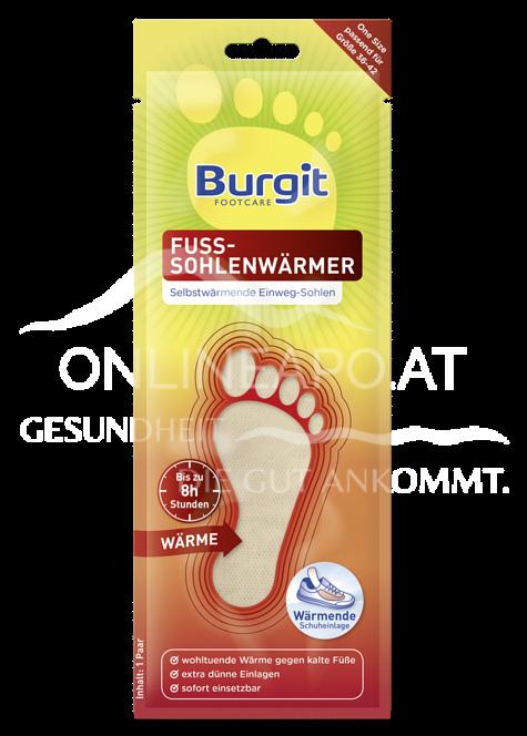 Burgit Footcare Fuss-Sohlenwärmer