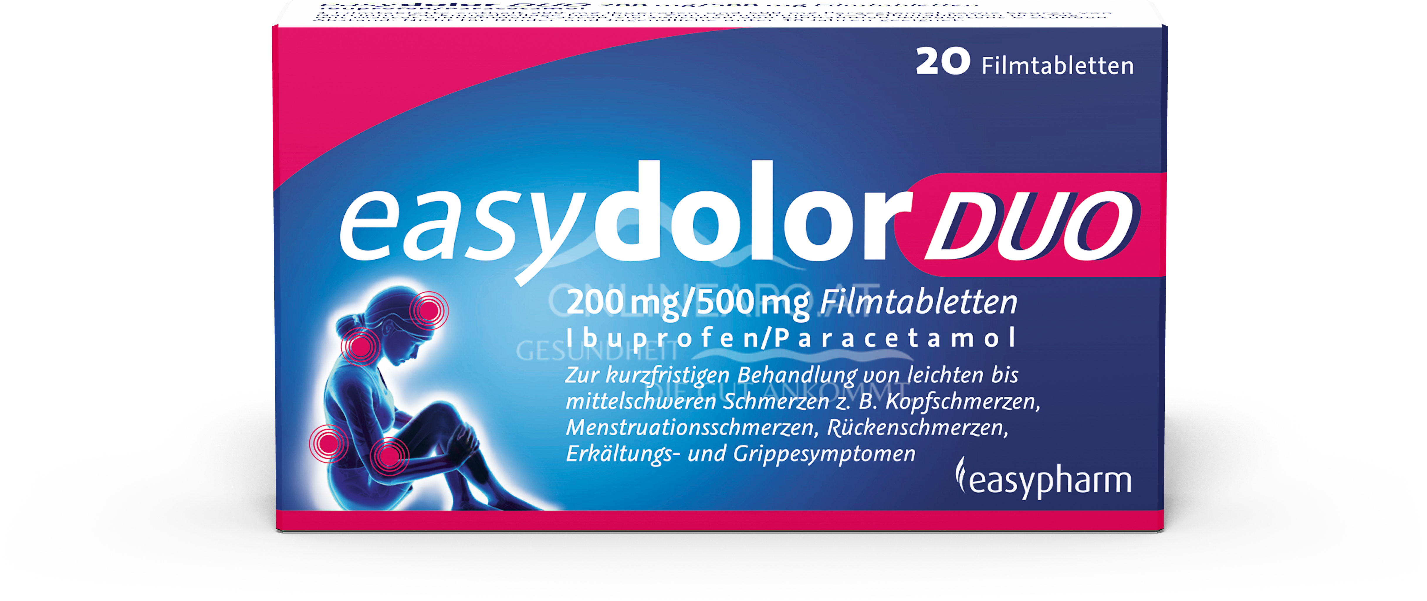 easydolor DUO 200 mg/500 mg Filmtabletten
