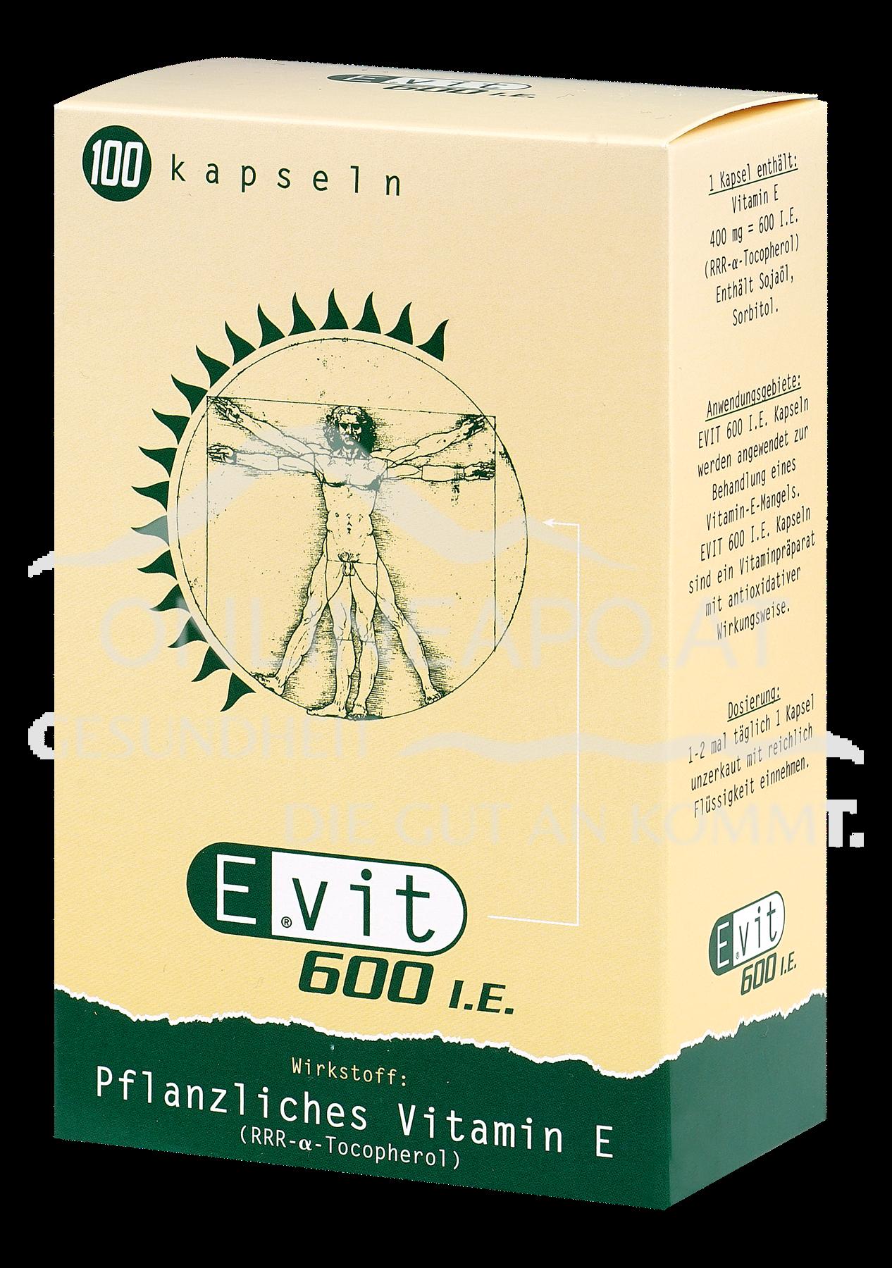 EVIT® 600 I.E. Kapseln