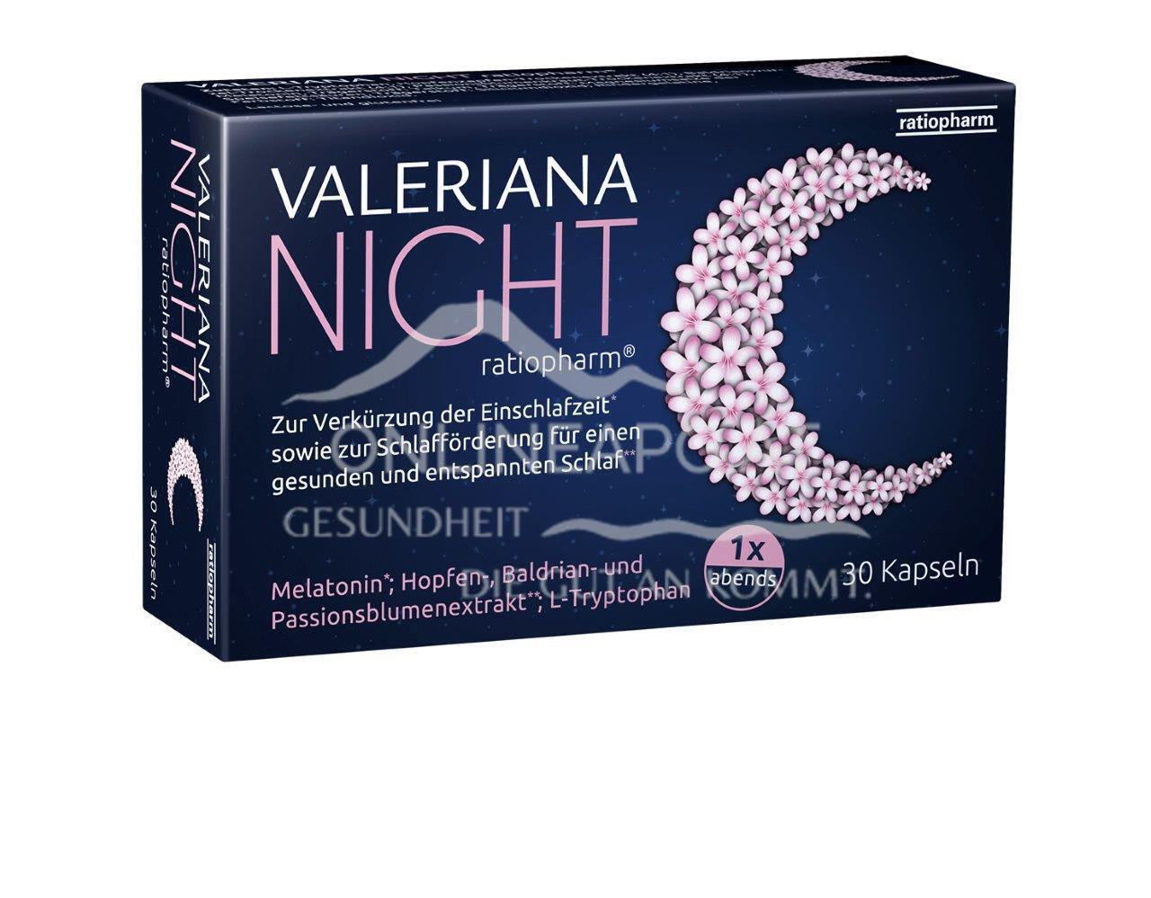 Valeriana NIGHT ratiopharm®
