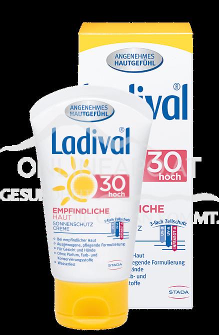 Ladival® Empfindliche Haut Sonnenschutz Creme Gesicht LSF 30