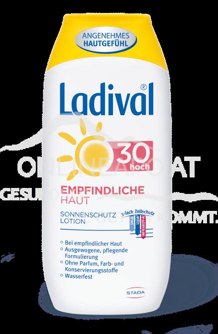 Ladival® Empfindliche Haut Sonnenschutz Lotion LSF 30