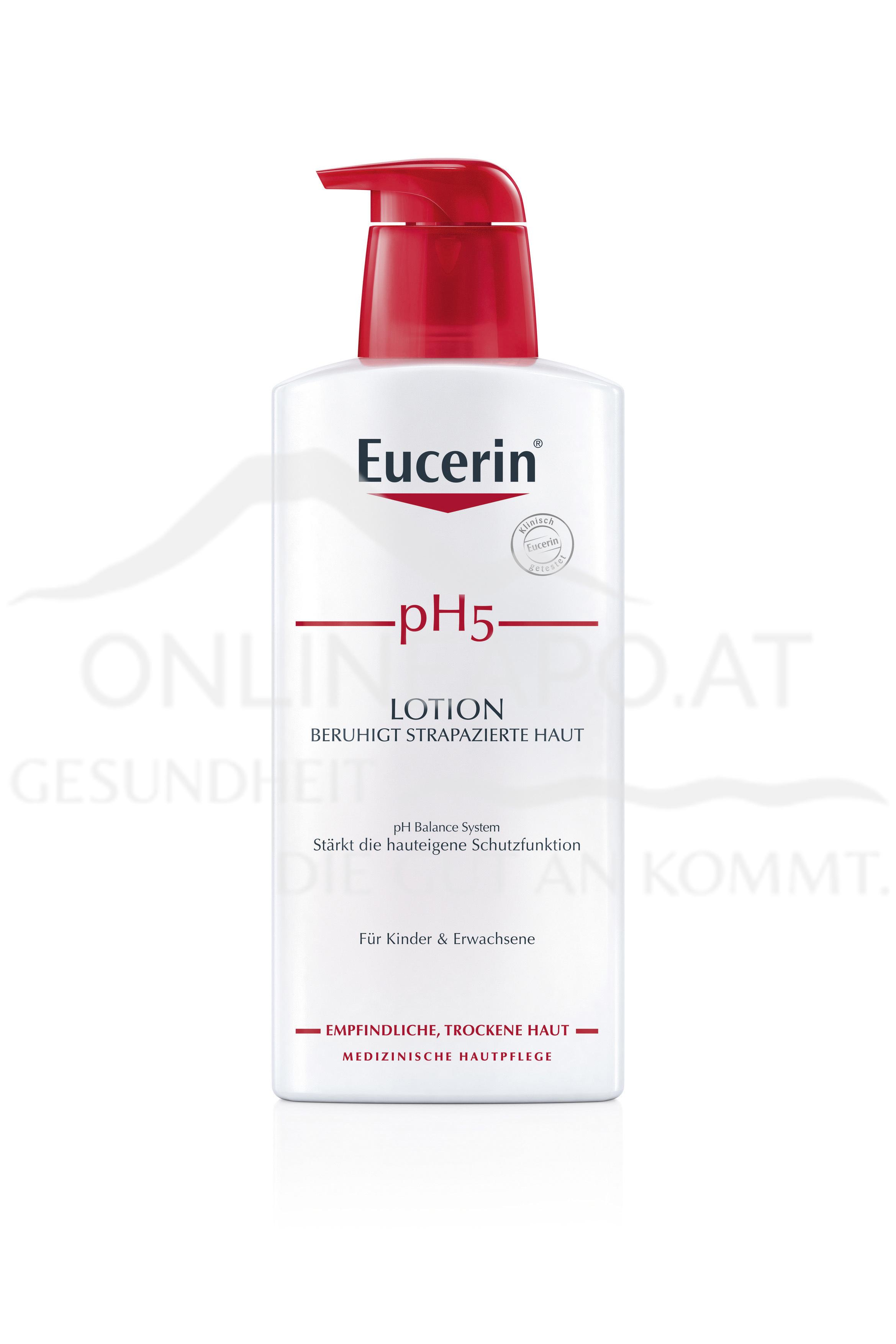 Eucerin pH5 Lotion + Pumpe