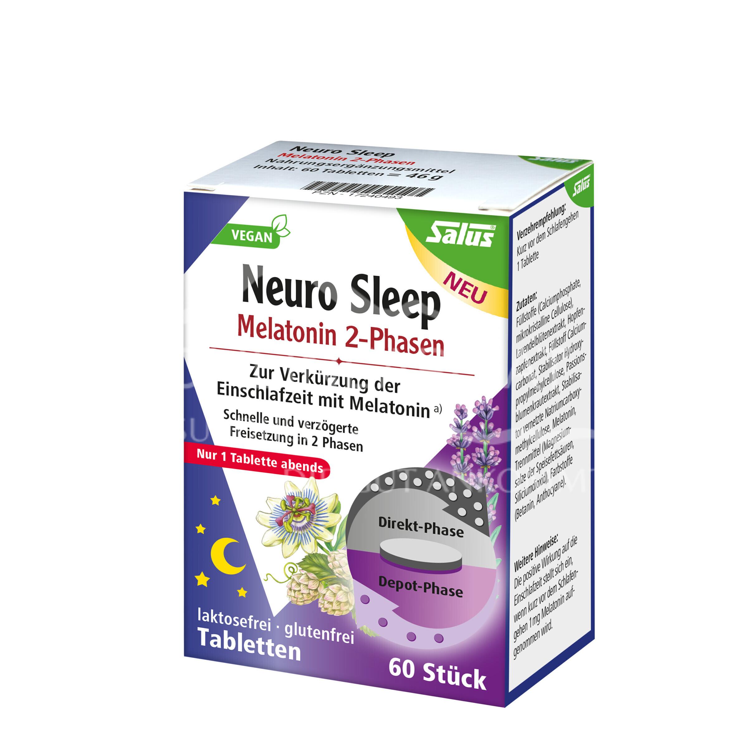 Melatonin 2-Phasen Tabletten 1,8 mg