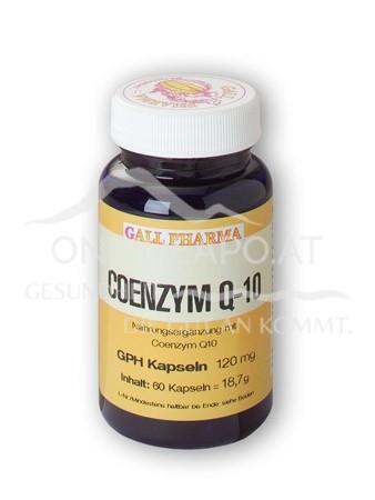 GPH Coenzym Q10 120mg Kapseln