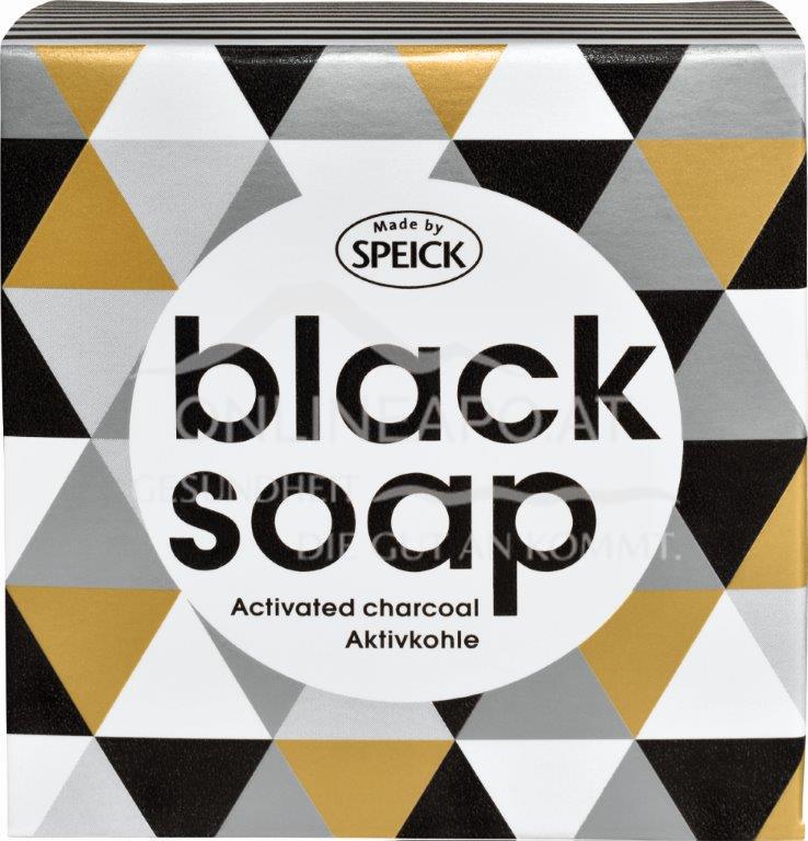 Made by Speick Black Soap - Aktivkohle