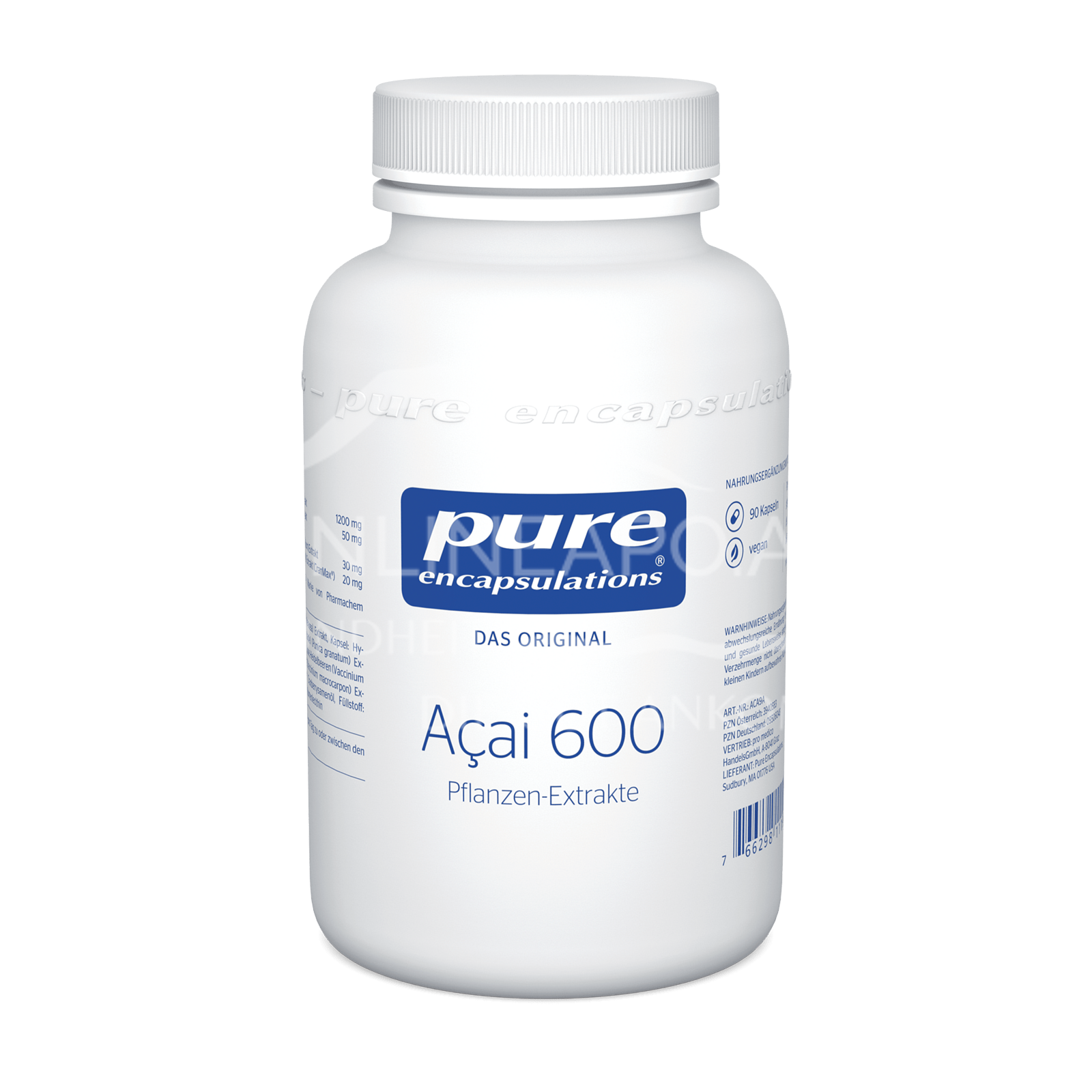 pure encapsulations® Açai 600