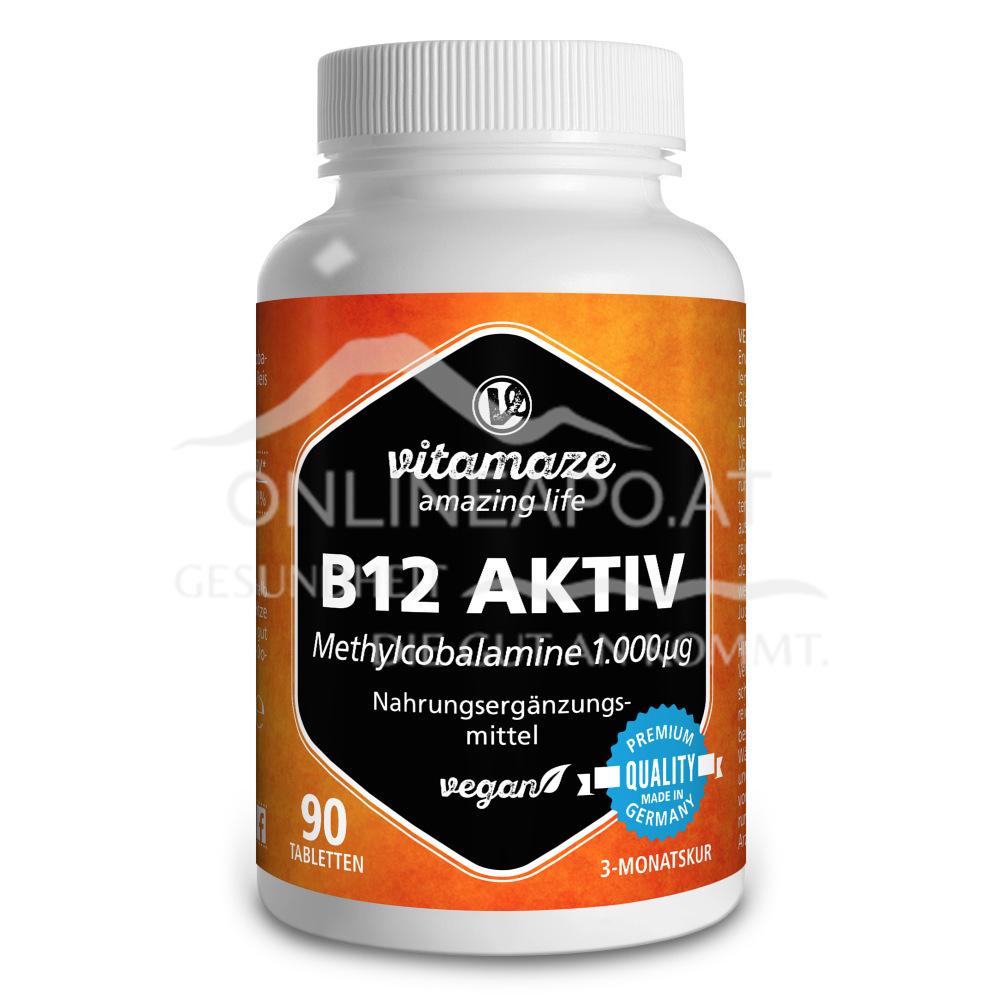 Vitamaze B12 Aktiv 1000mcg vegan