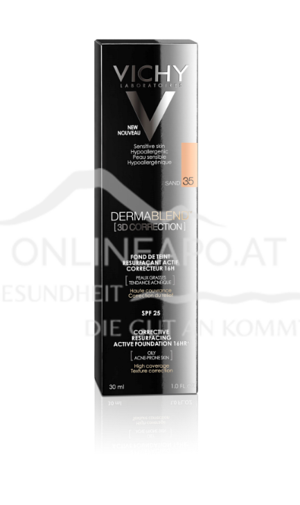 VICHY Dermablend 3D Make-Up 35 - Sand
